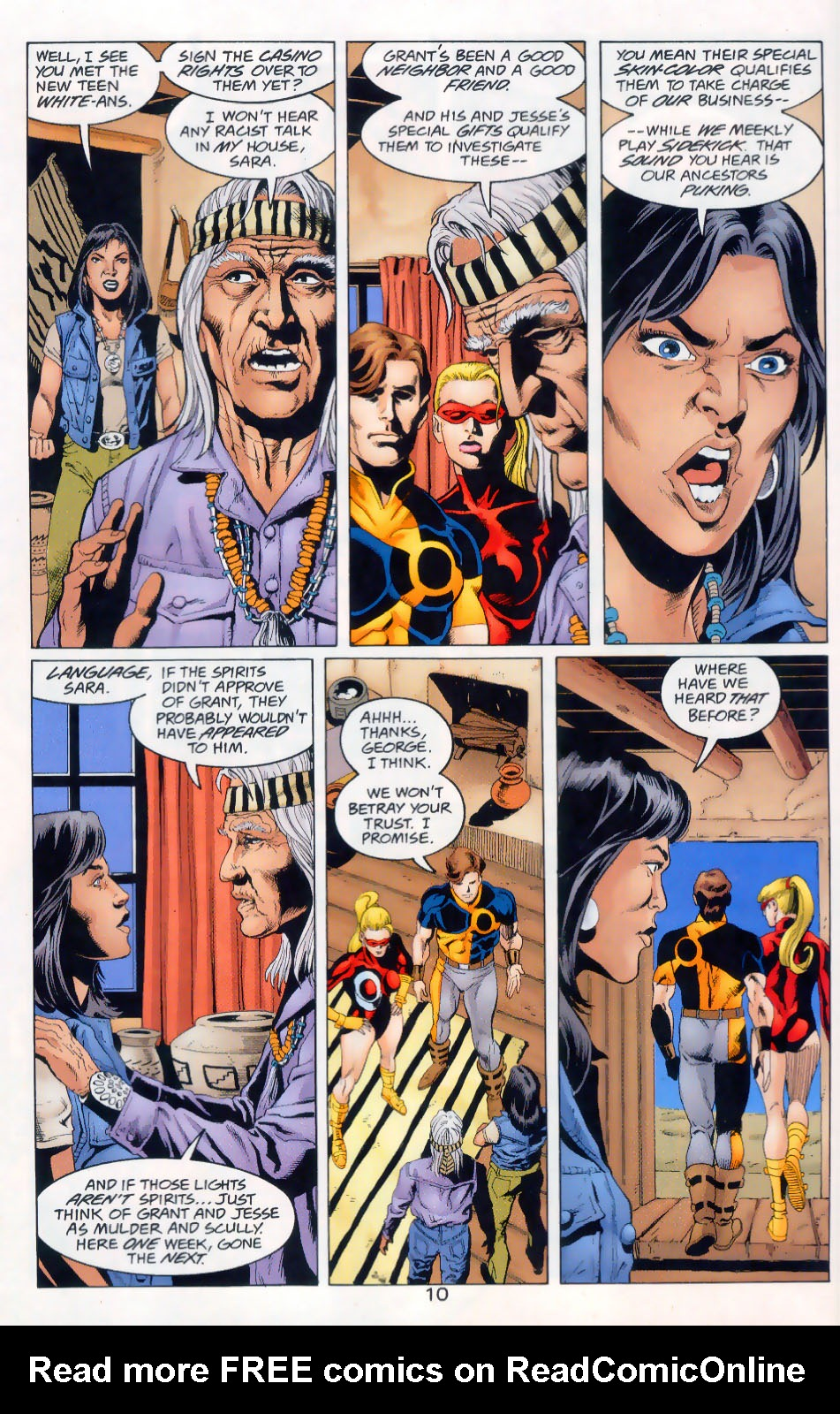 Read online The Titans (1999) comic -  Issue #45 - 11