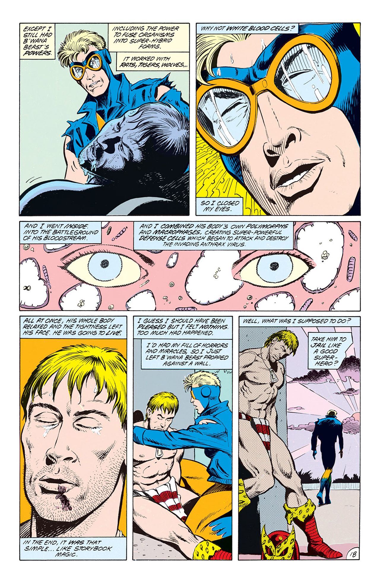 Read online Animal Man (1988) comic -  Issue #4 - 20