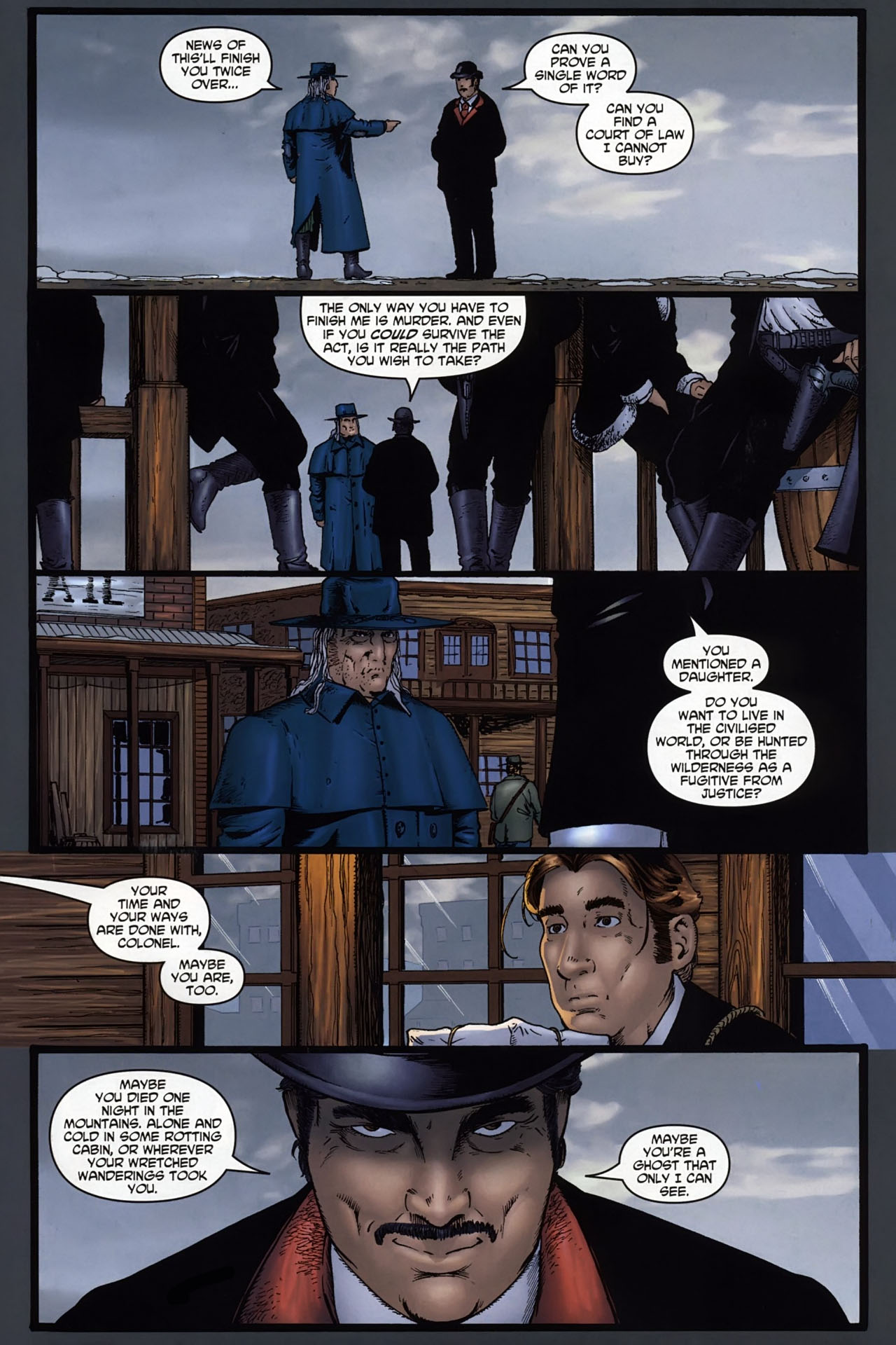 Read online Garth Ennis' Streets of Glory comic -  Issue #6 - 9