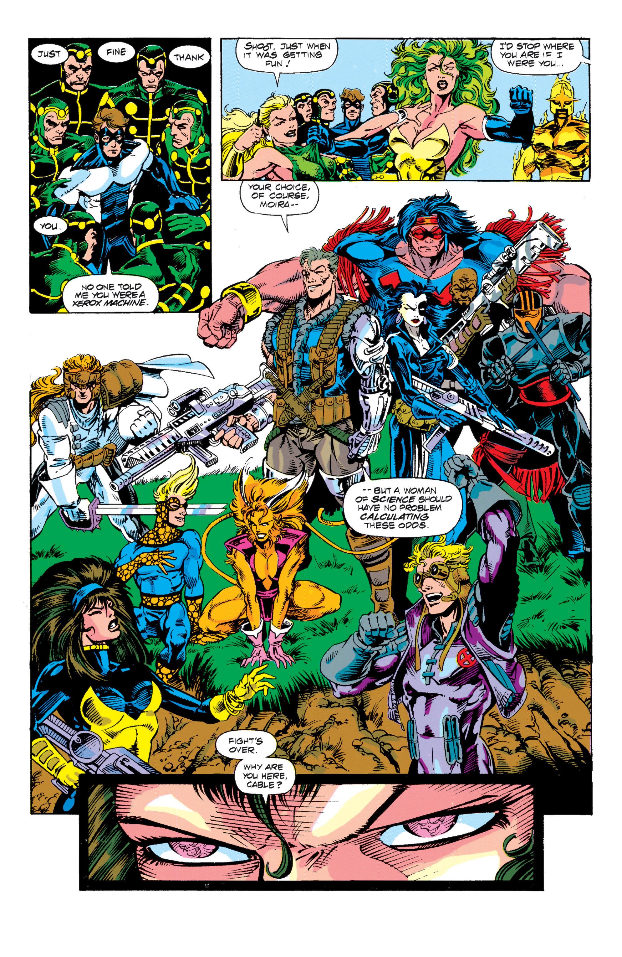 Read online Uncanny X-Men (1963) comic -  Issue # _Annual 15 - 9