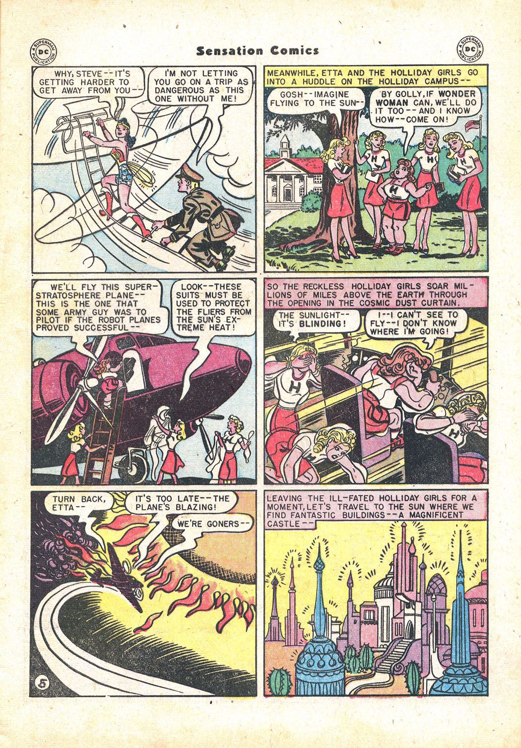 Read online Sensation (Mystery) Comics comic -  Issue #71 - 7
