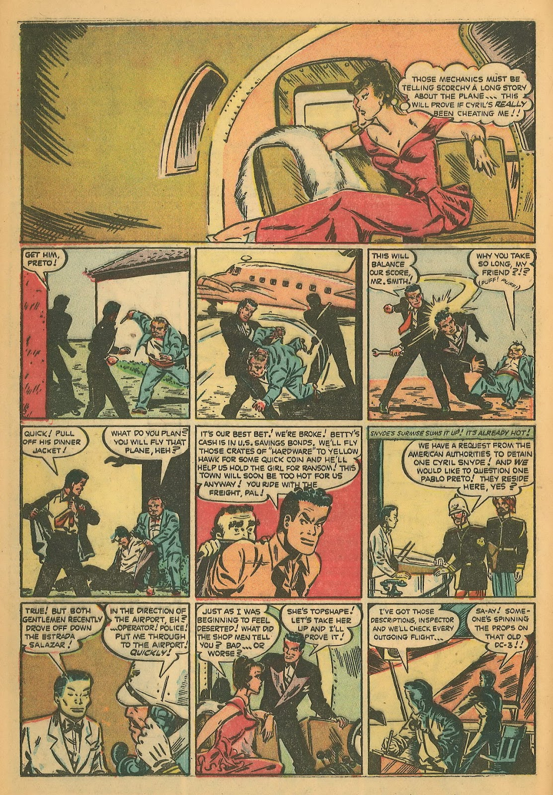 Read online Famous Funnies comic -  Issue #199 - 4
