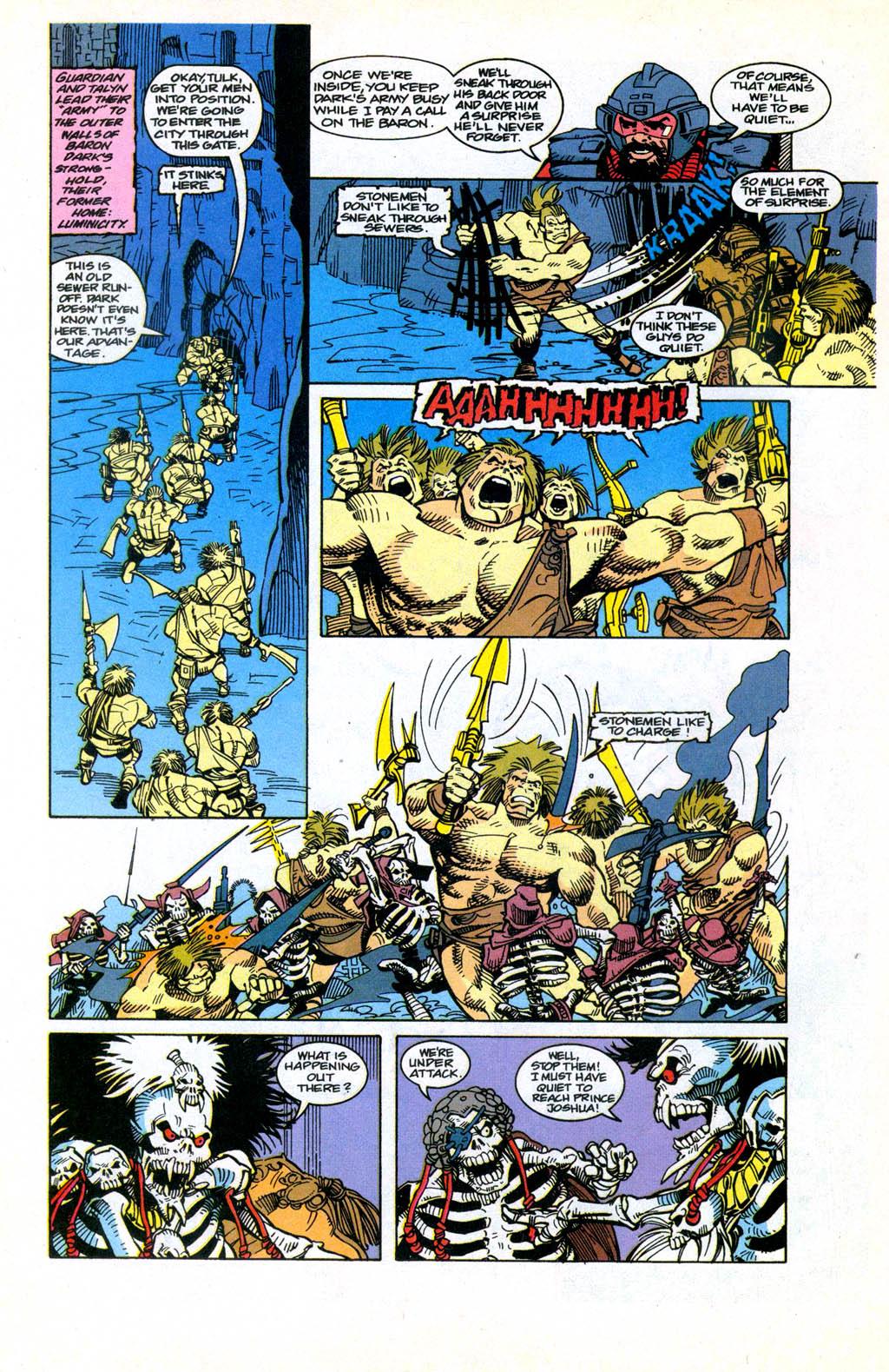 Skeleton Warriors Issue #3 #3 - English 20