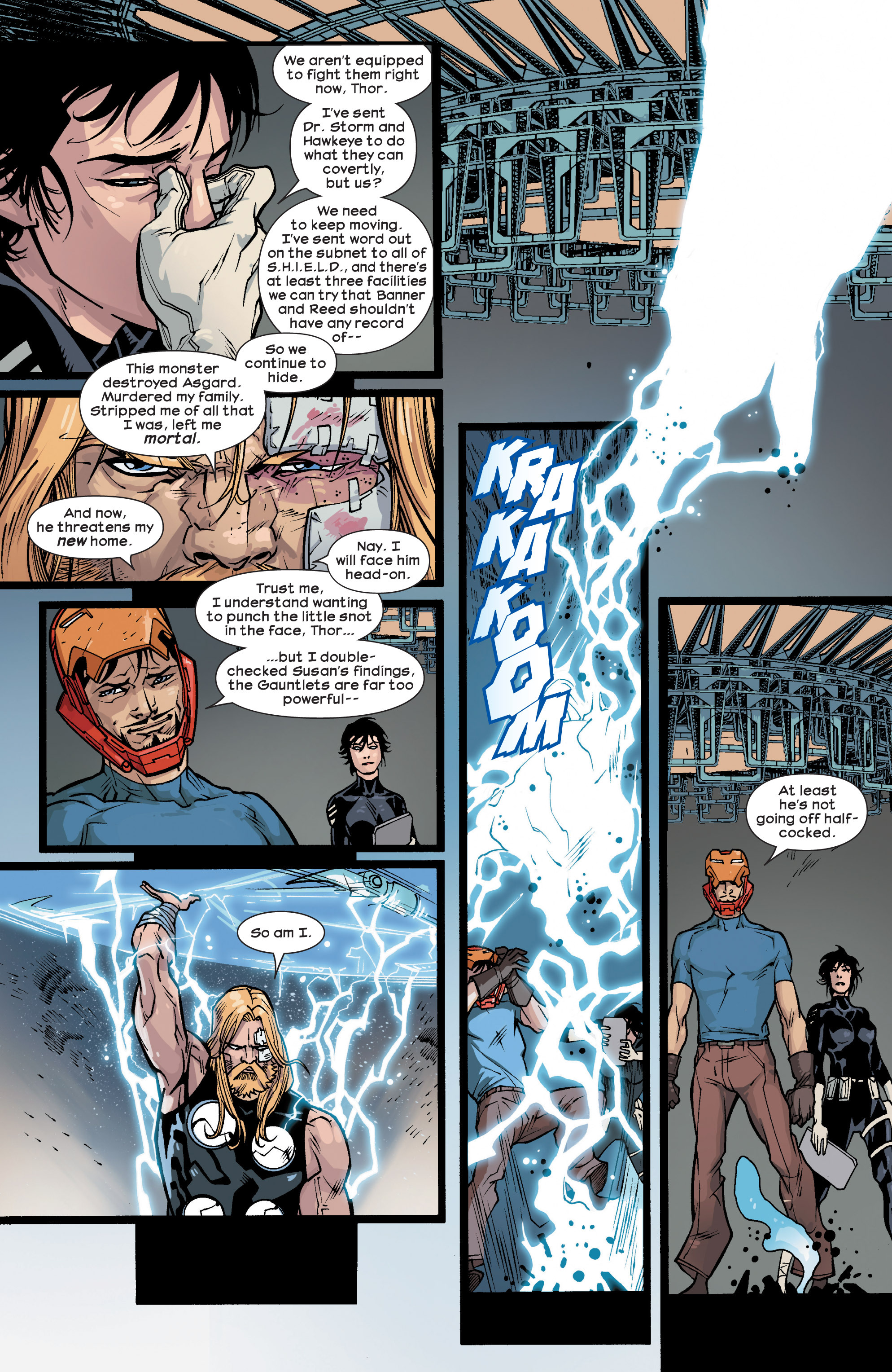 Read online Ultimate Comics Ultimates comic -  Issue #26 - 6