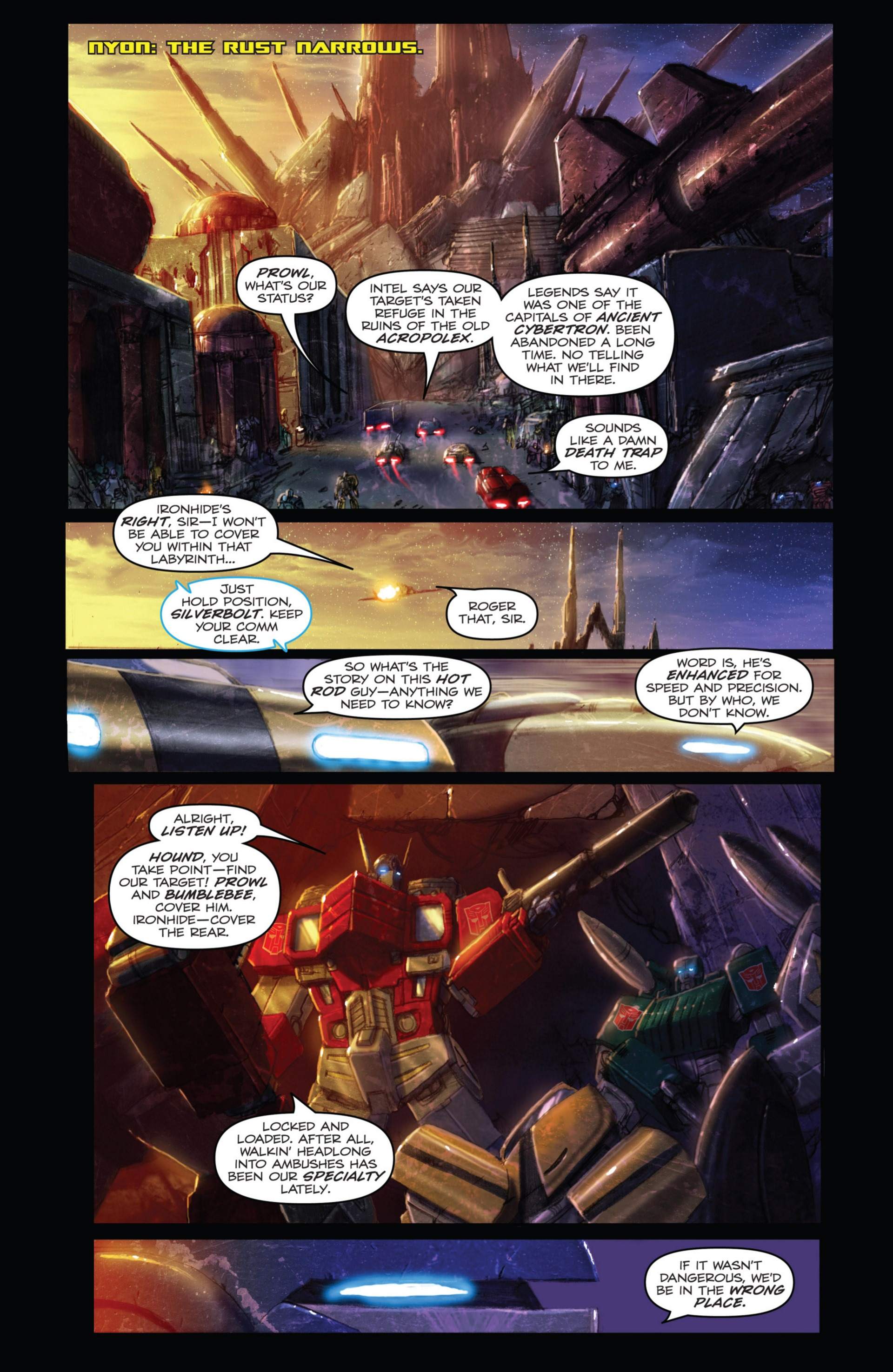 Read online Transformers: Autocracy comic -  Issue # Full - 44