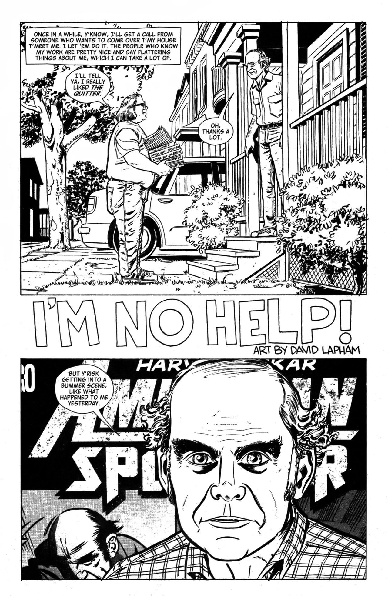 Read online American Splendor (2008) comic -  Issue #1 - 3