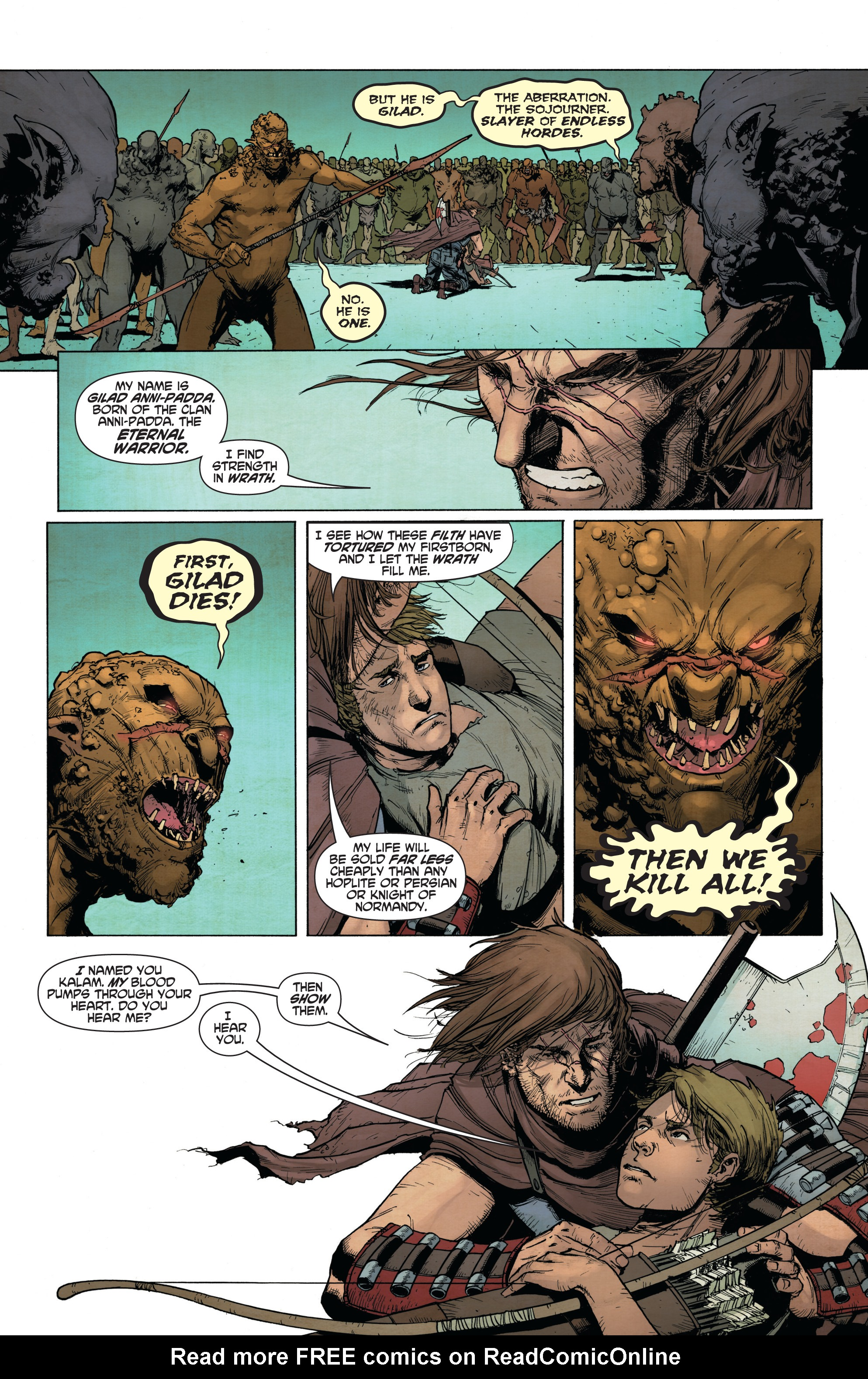 Read online Wrath of the Eternal Warrior comic -  Issue #14 - 6