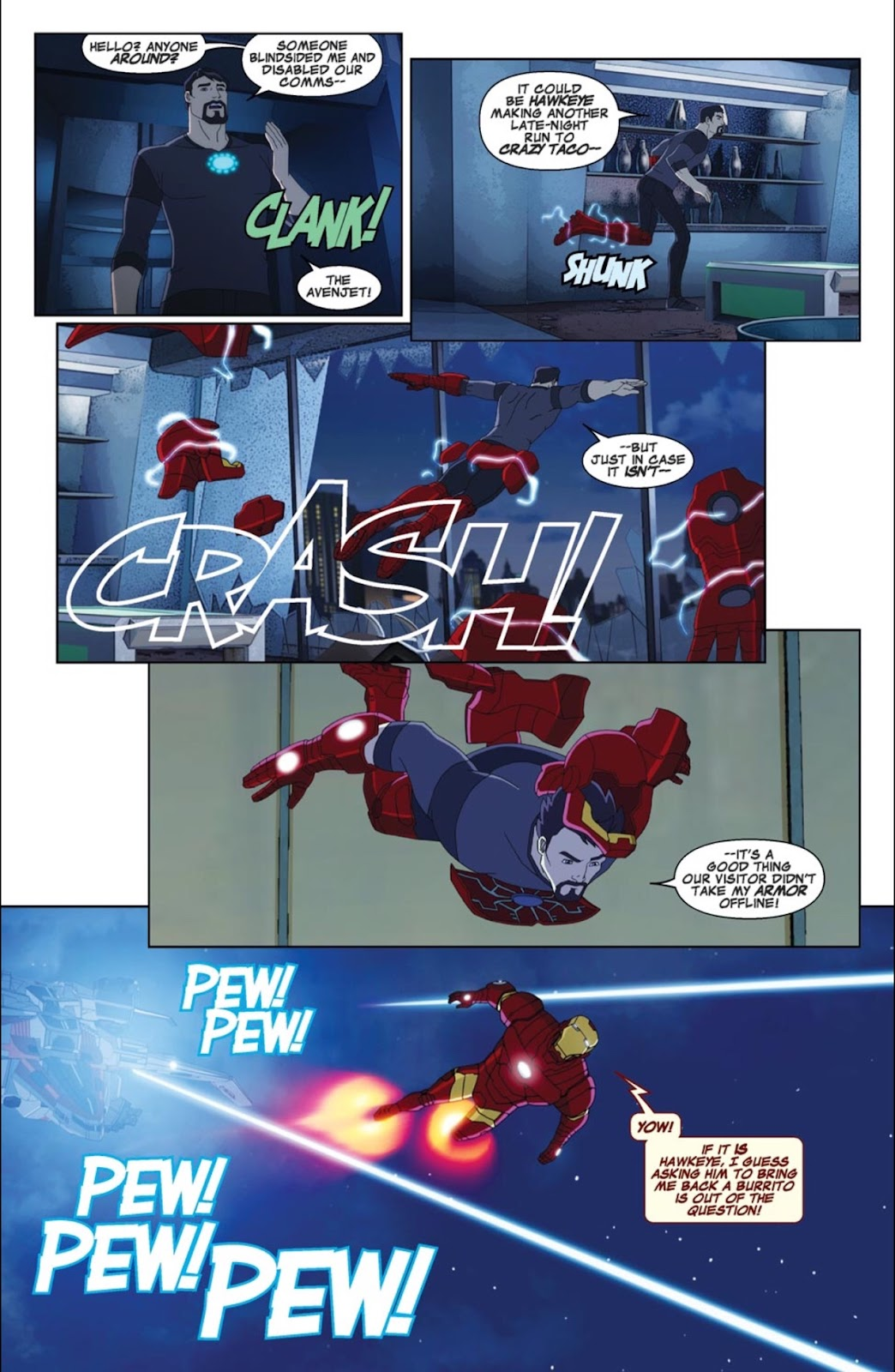 Read online Marvel Universe Avengers Assemble Season 2 comic -  Issue #4 - 8