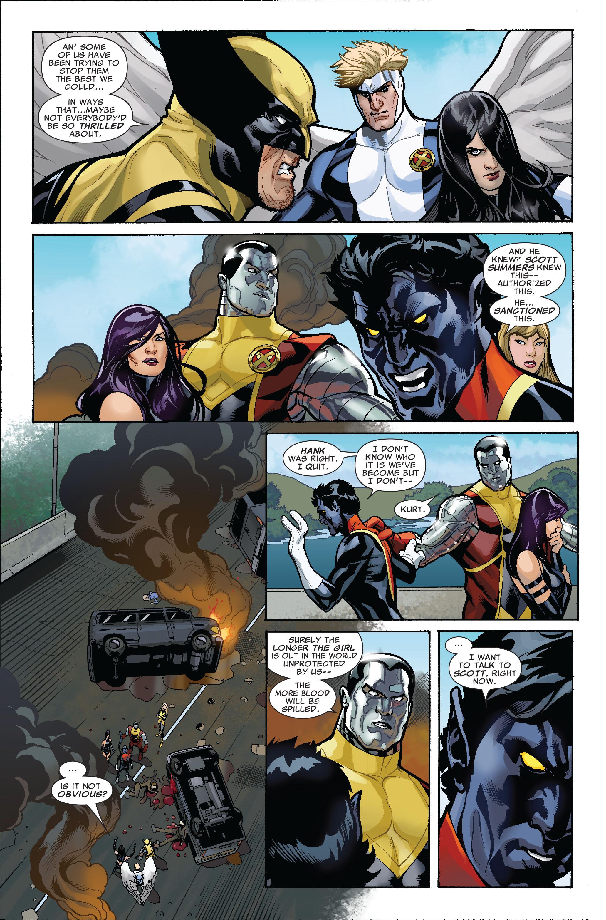Read online Uncanny X-Men (1963) comic -  Issue #523 - 7