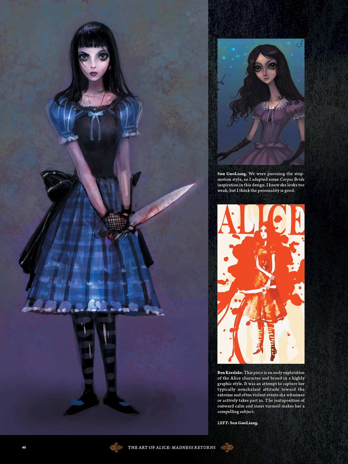 Read online The Art of Alice: Madness Returns comic -  Issue # TPB (Part 1) - 37