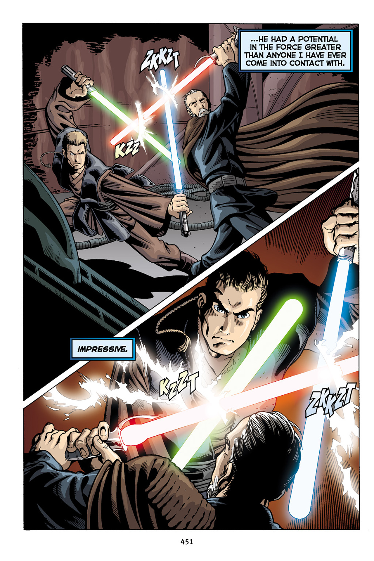 Read online Star Wars Omnibus comic -  Issue # Vol. 10 - 444