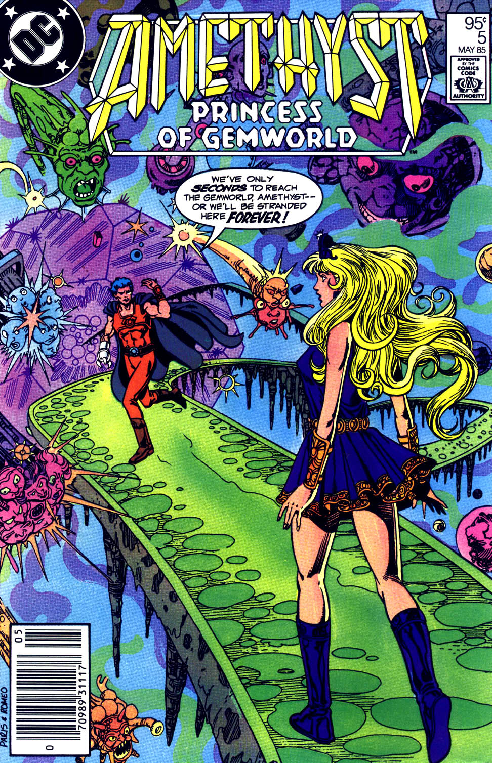 Read online Amethyst (1985) comic -  Issue #5 - 1