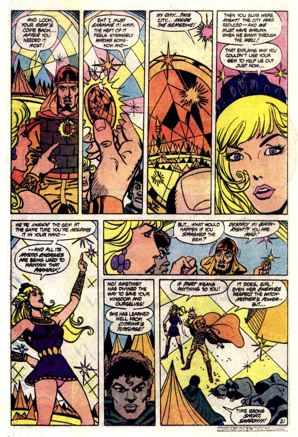Read online Amethyst (1985) comic -  Issue #6 - 22