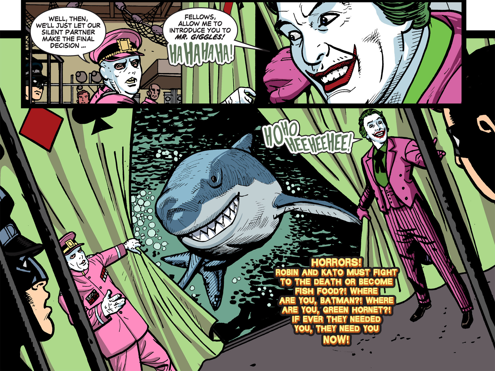Read online Batman '66 Meets the Green Hornet [II] comic -  Issue #5 - 99
