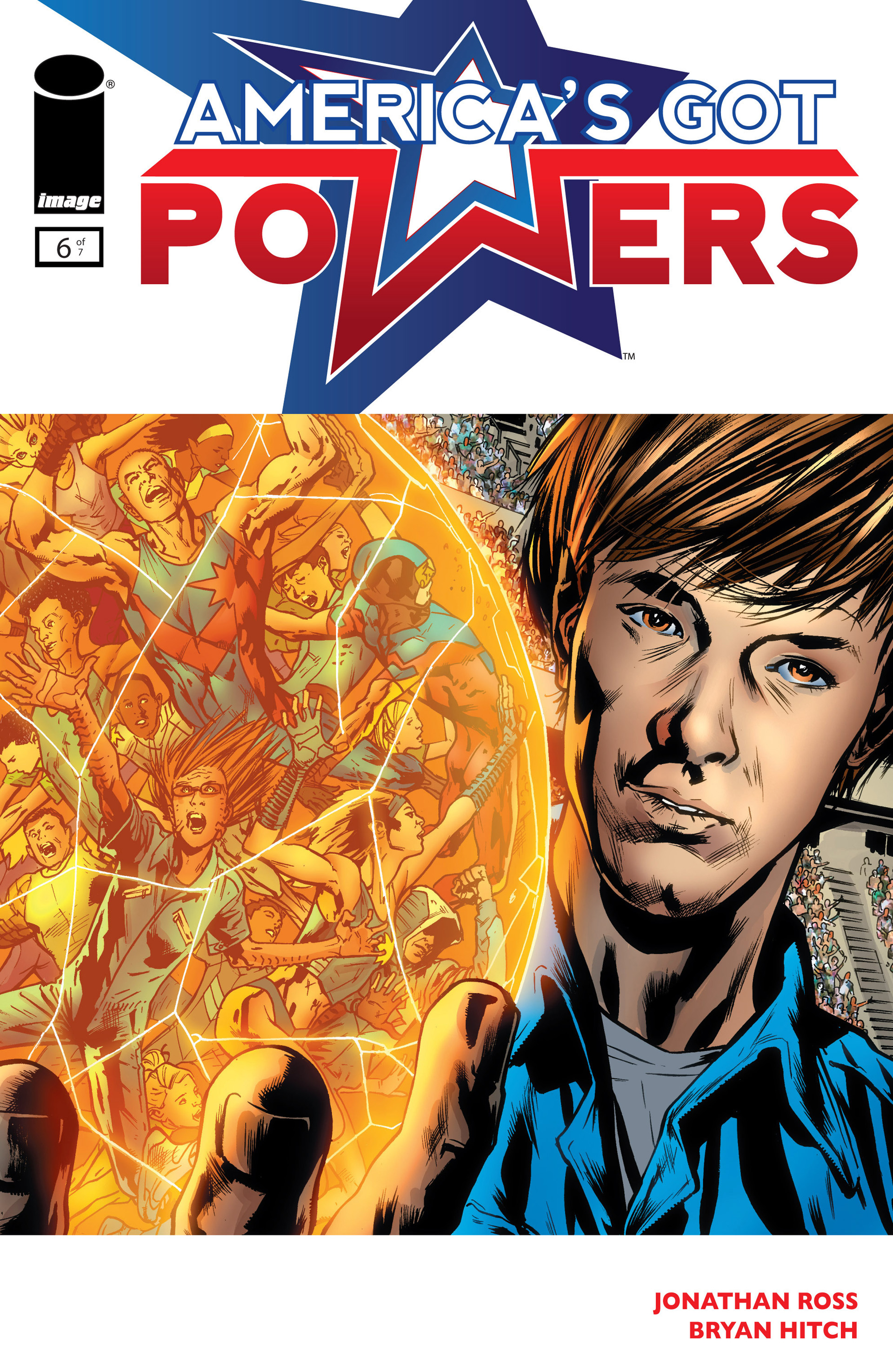 Read online America's Got Powers comic -  Issue #6 - 1