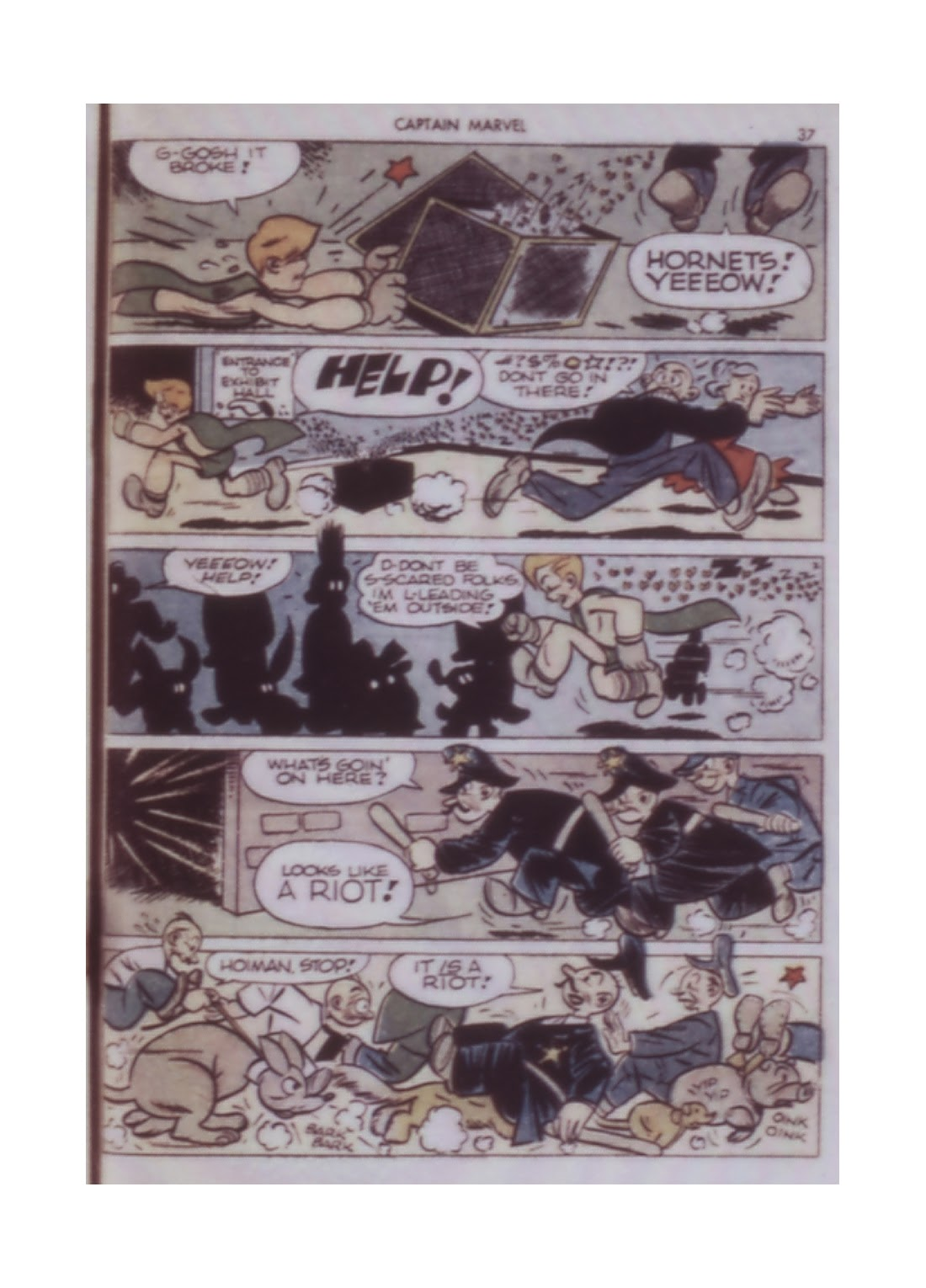 Captain Marvel Adventures issue 14 - Page 37