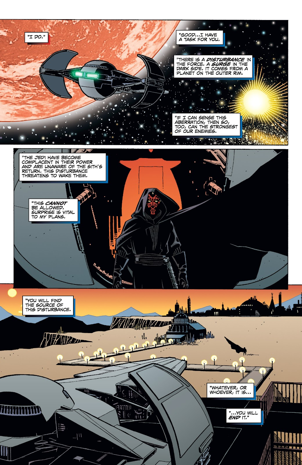 Read online Star Wars Legends: Rise of the Sith - Epic Collection comic -  Issue # TPB 1 (Part 4) - 57