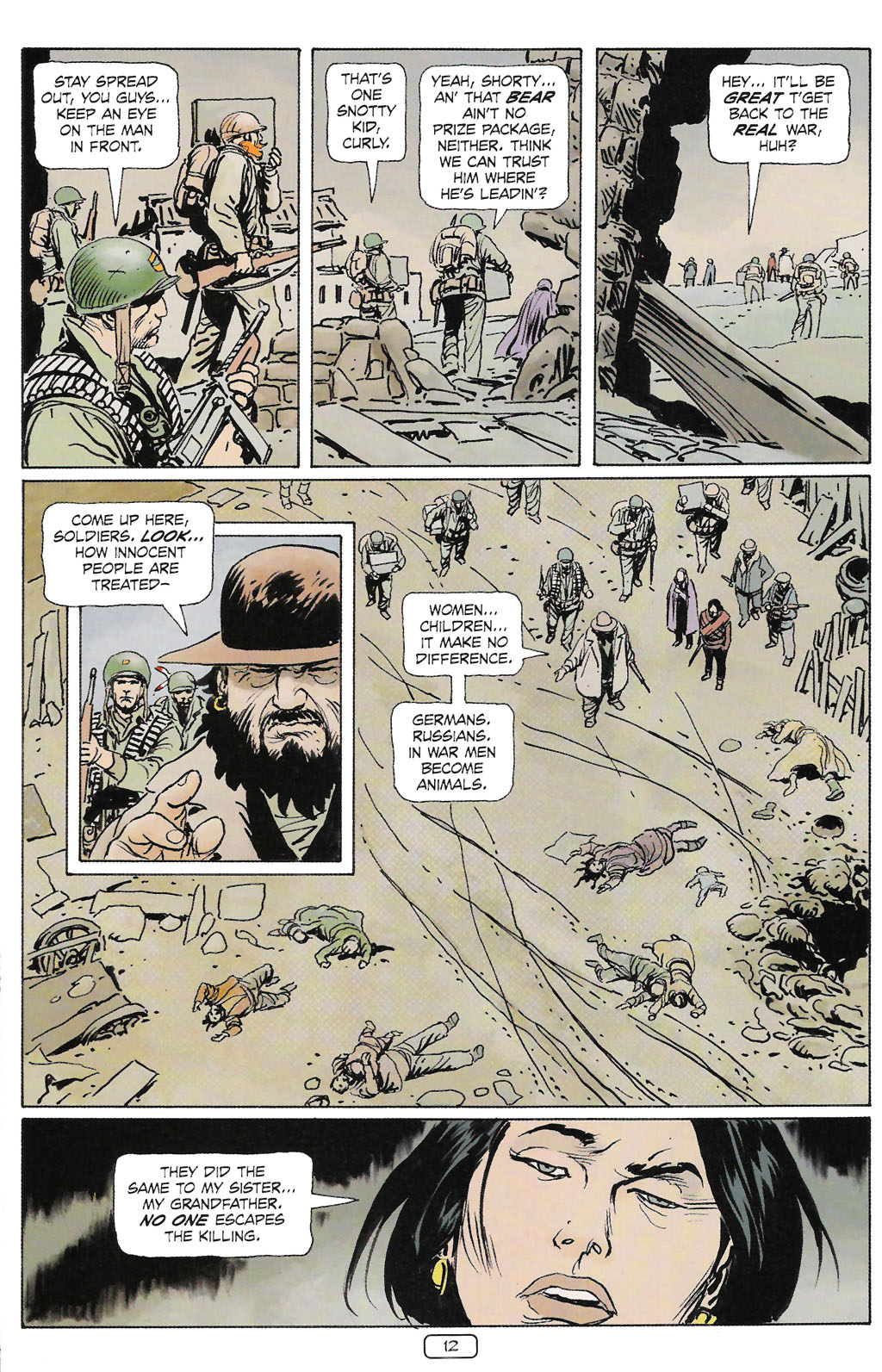 Read online Sgt. Rock: The Prophecy comic -  Issue #2 - 13