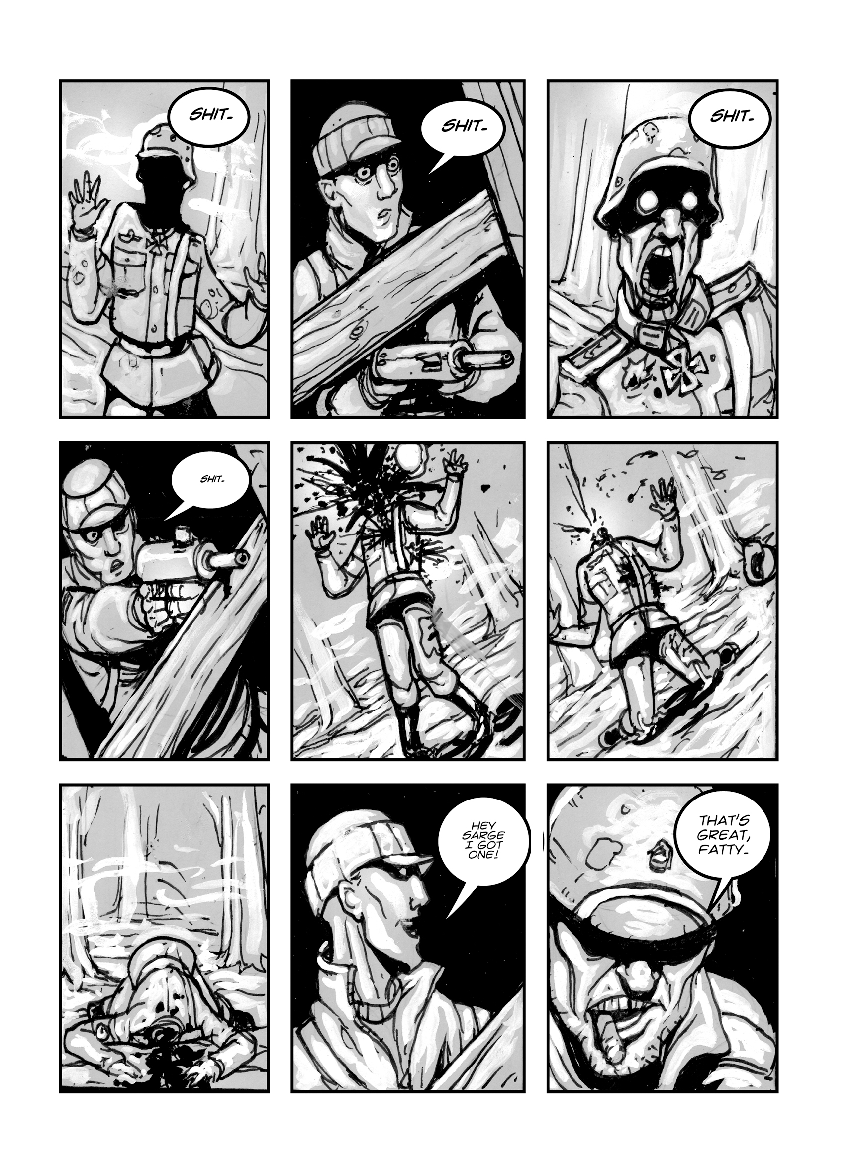 Read online FUBAR comic -  Issue #1 - 43
