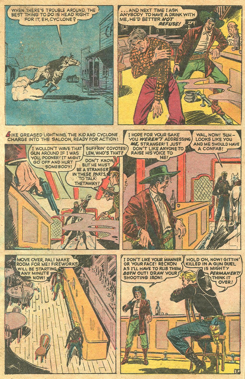 Read online Two-Gun Kid comic -  Issue #1 - 4