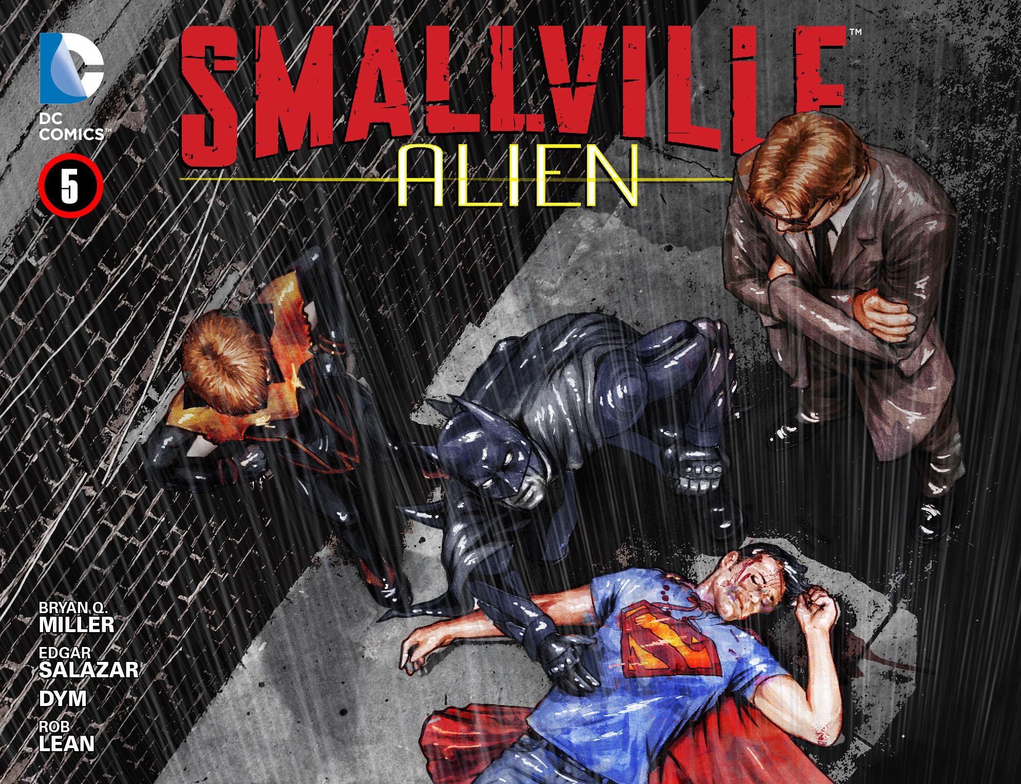 Read online Smallville: Alien comic -  Issue #5 - 1