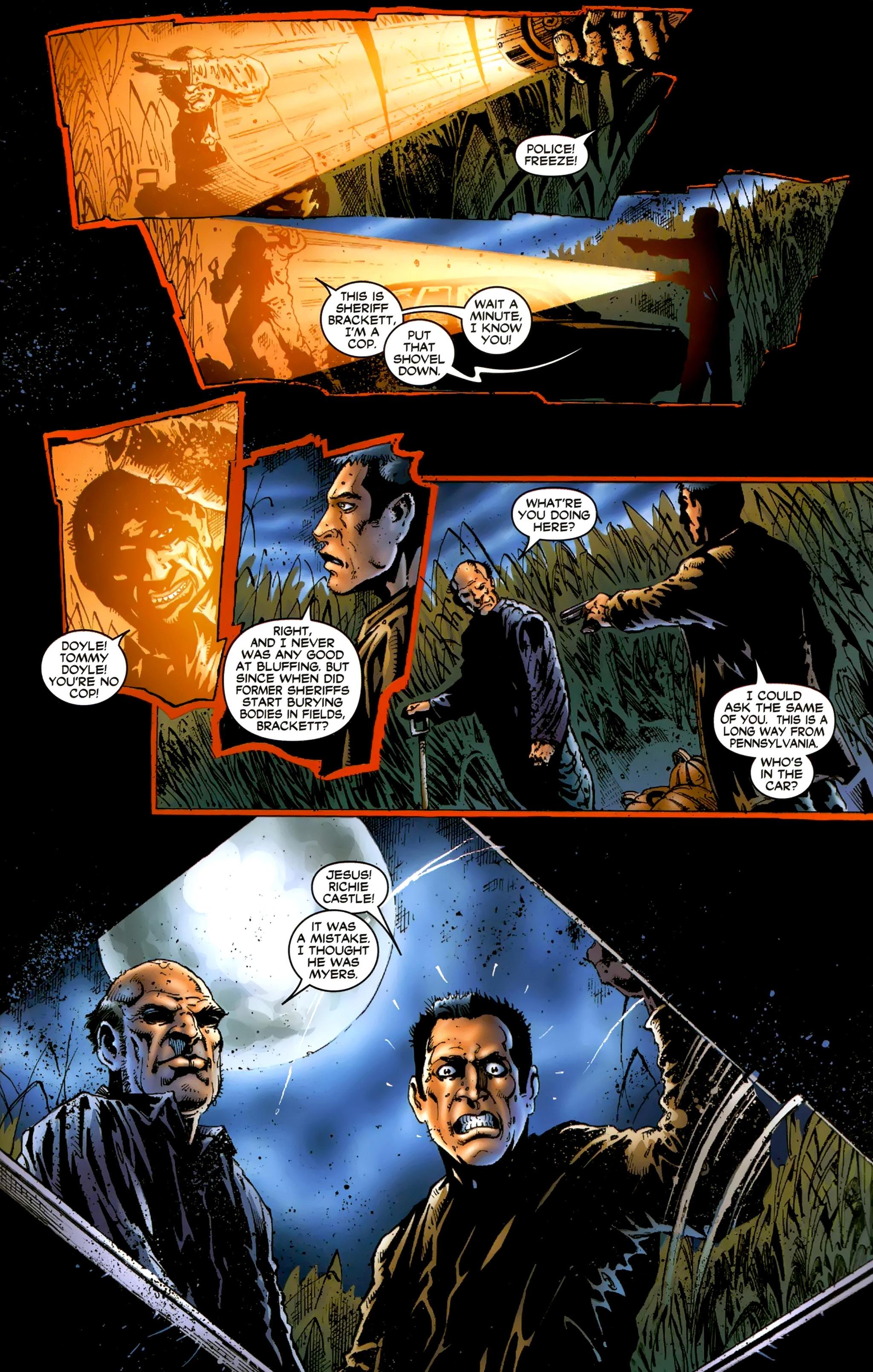 Read online Halloween II: The Blackest Eyes comic -  Issue # Full - 11