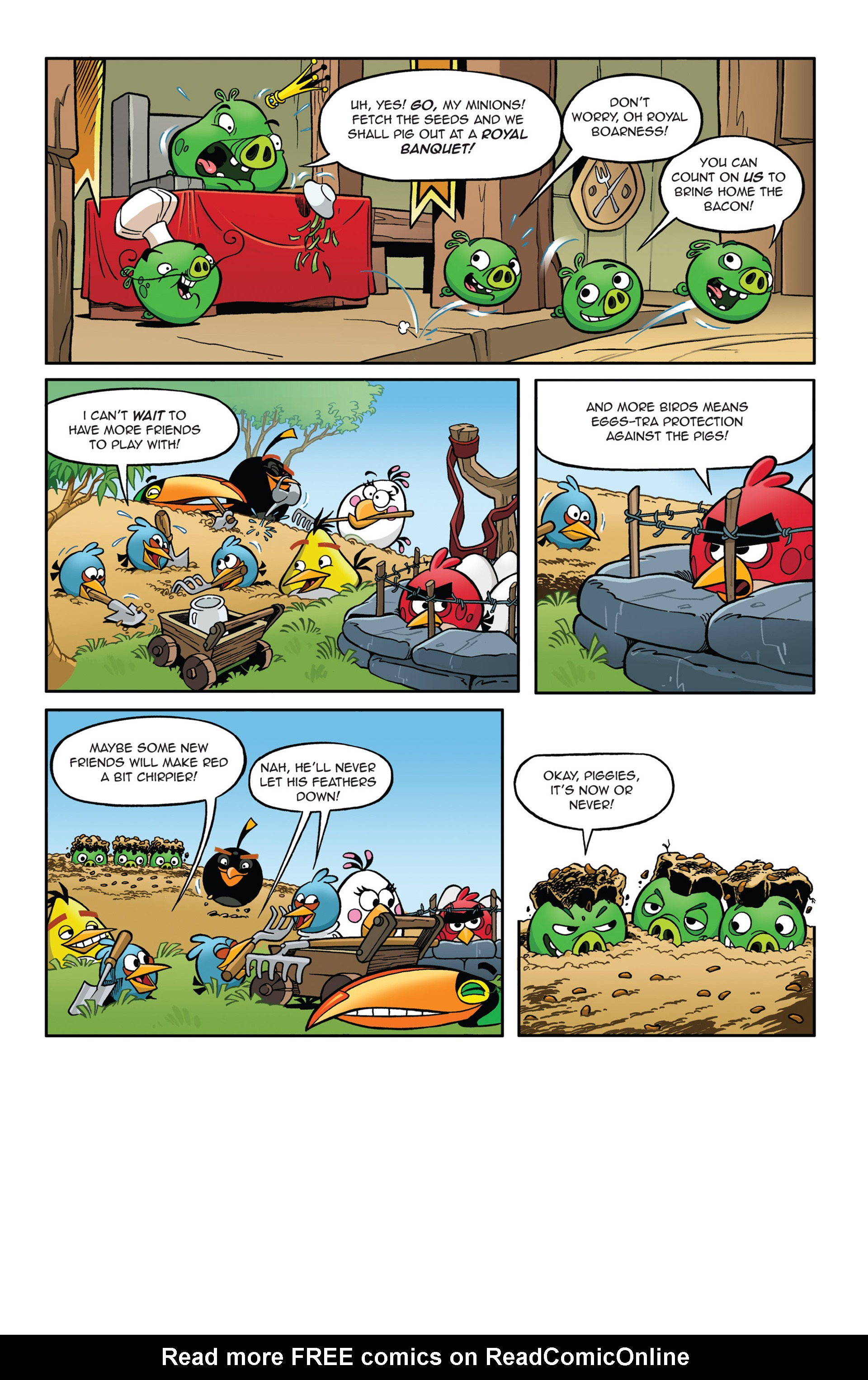 Read online Angry Birds Comics (2014) comic -  Issue #5 - 8
