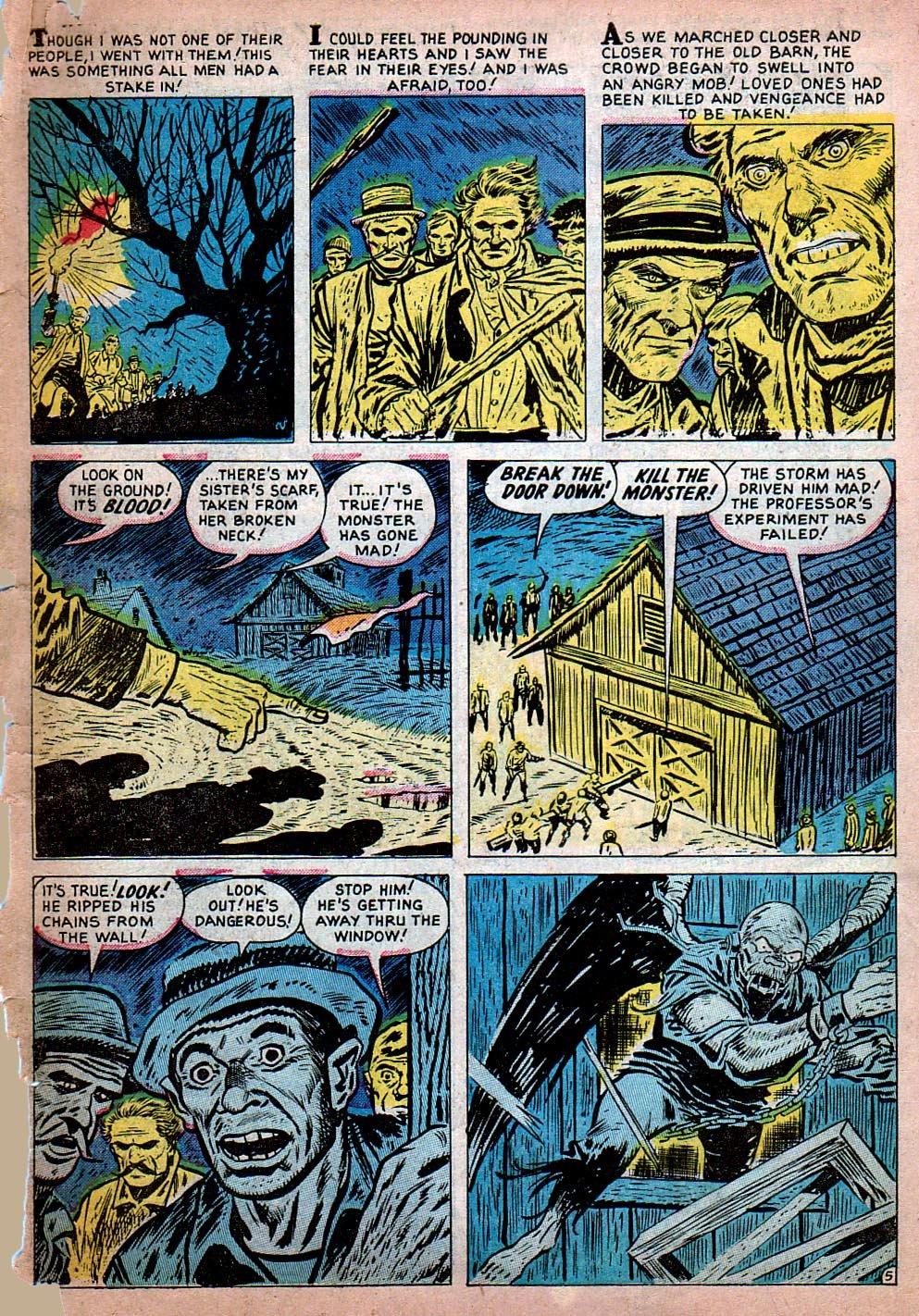 Read online Adventures into Weird Worlds comic -  Issue #15 - 6