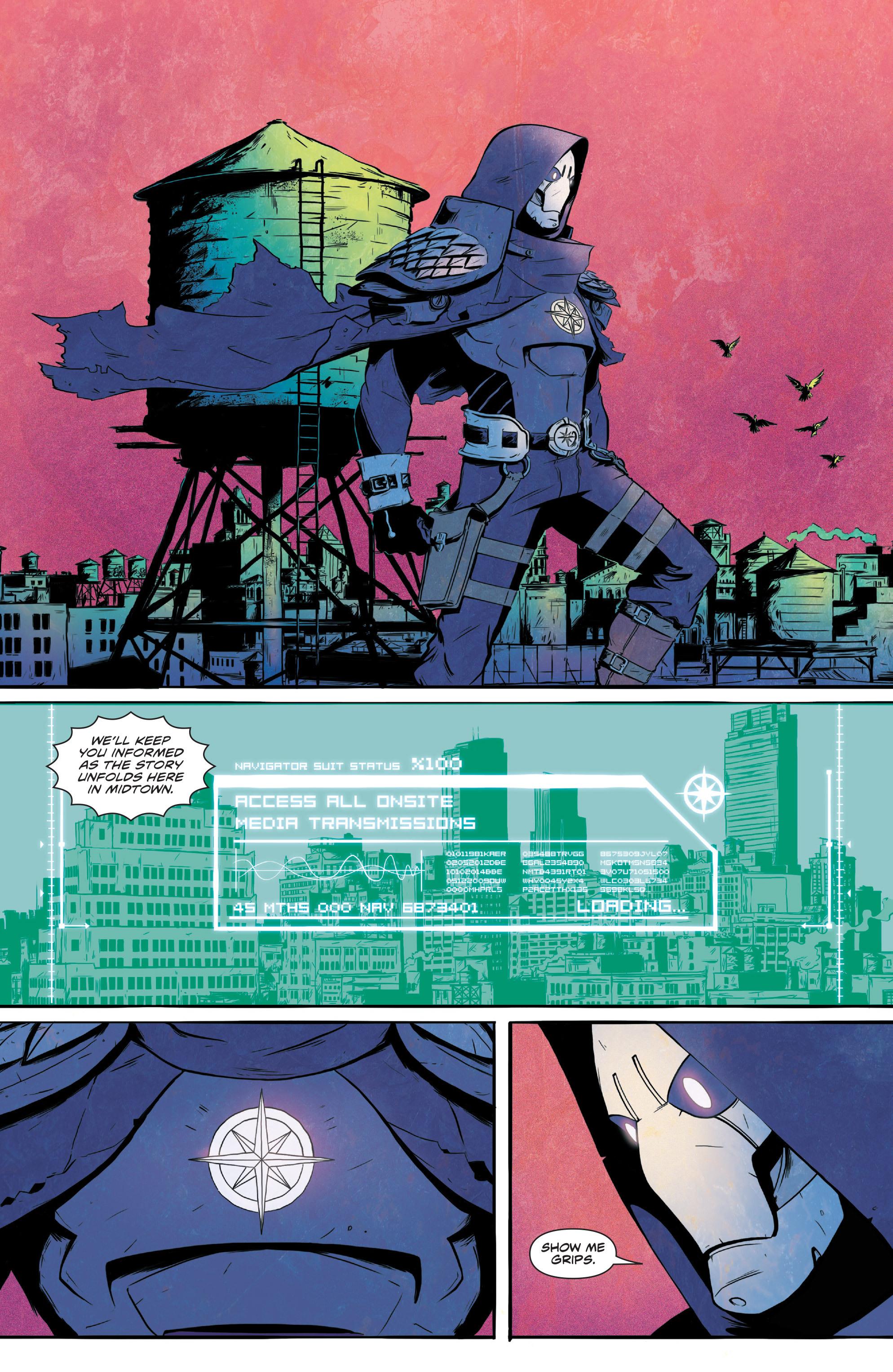 Read online Translucid comic -  Issue #1 - 11
