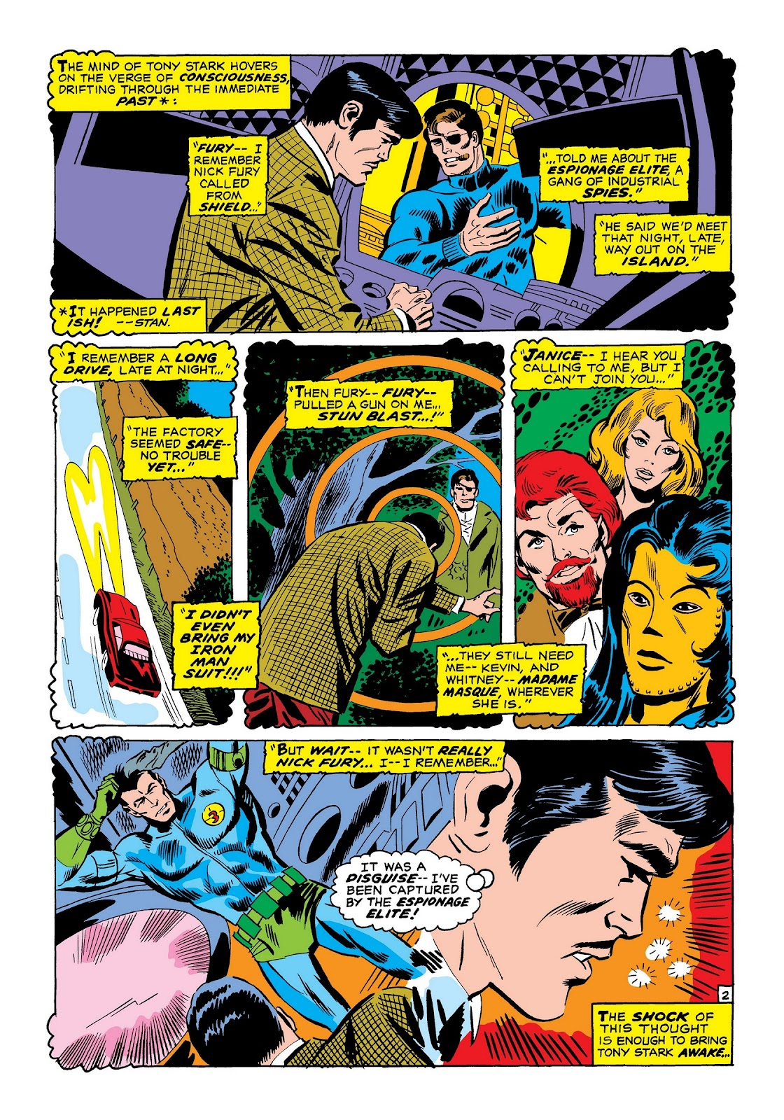 Read online Marvel Masterworks: The Invincible Iron Man comic -  Issue # TPB 7 (Part 2) - 71