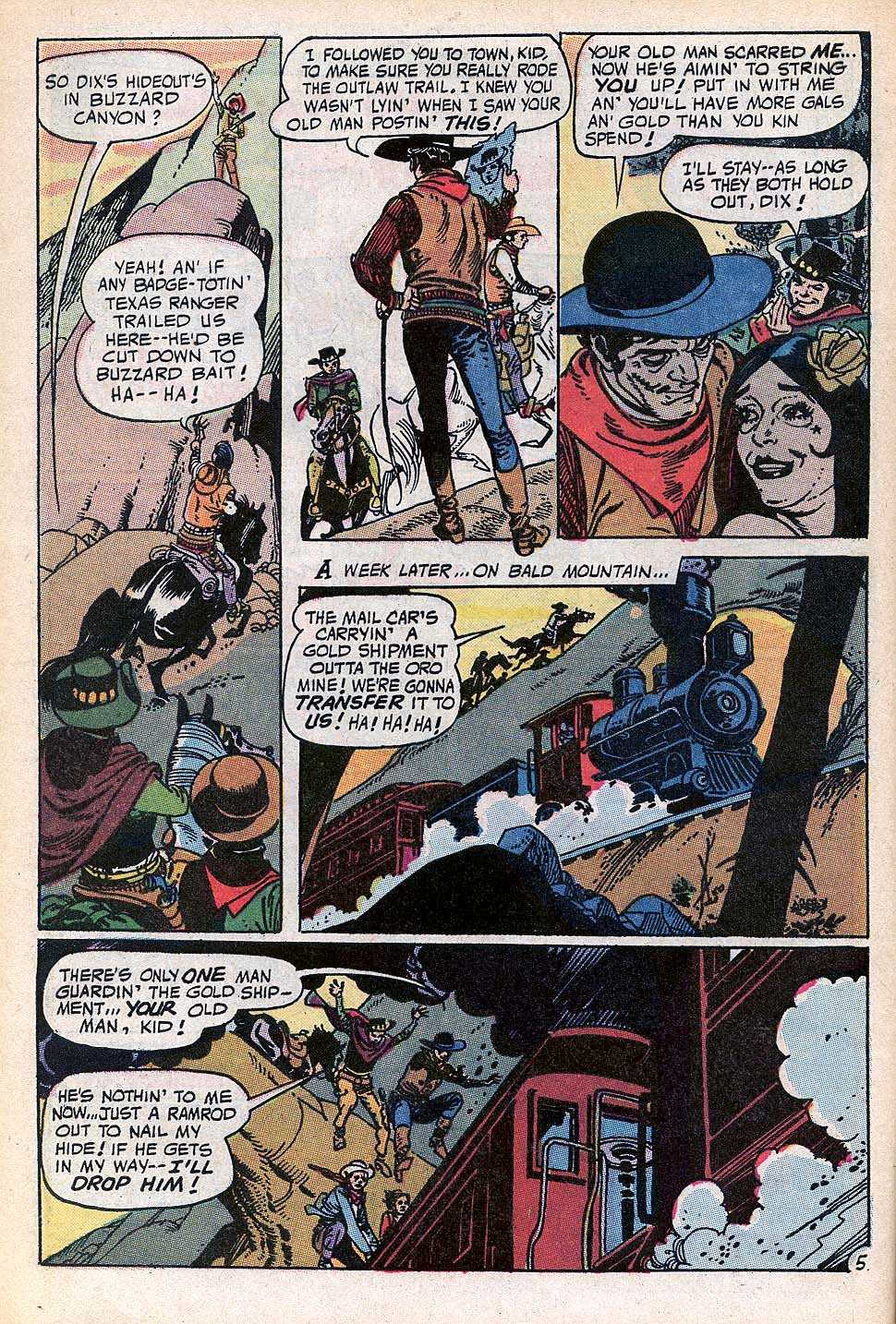 Read online All-Star Western (1970) comic -  Issue #3 - 6