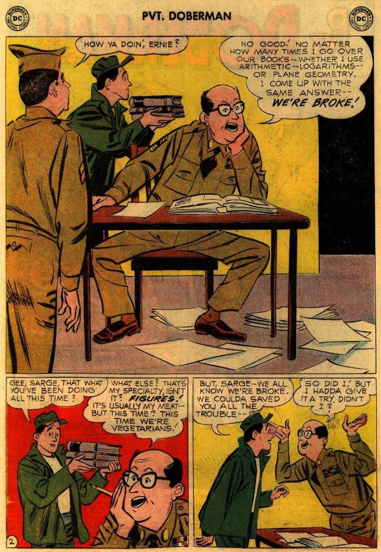 Sgt. Bilko's Pvt. Doberman issue 9 - Page 4