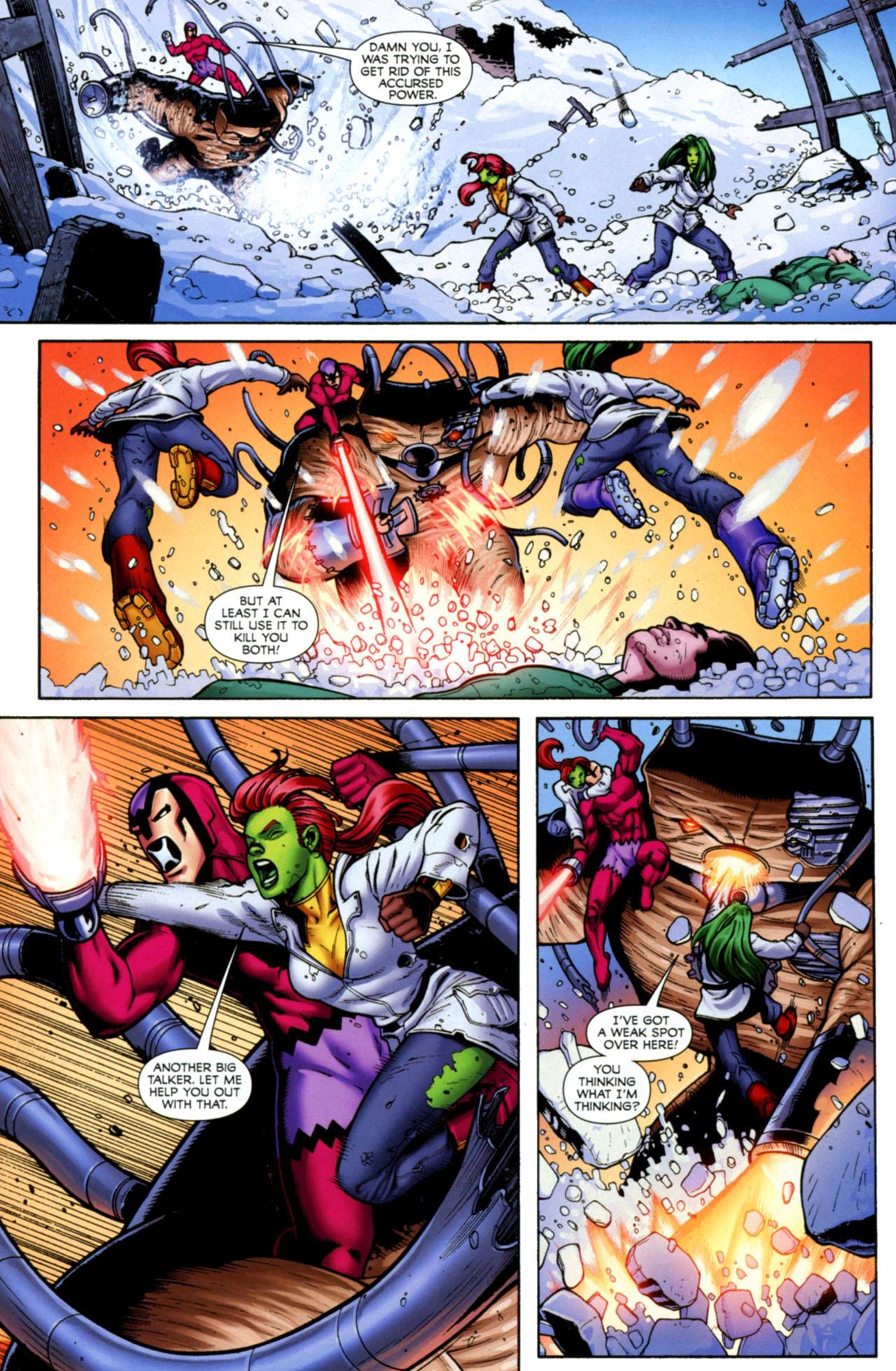 Read online She-Hulks comic -  Issue #4 - 5