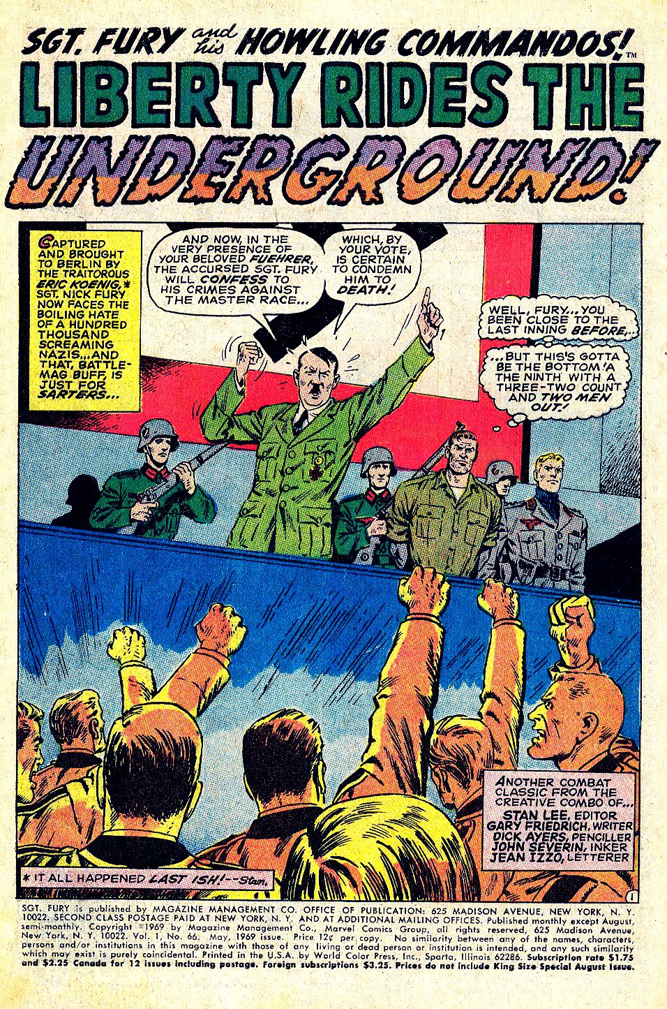 Read online Sgt. Fury comic -  Issue #66 - 3