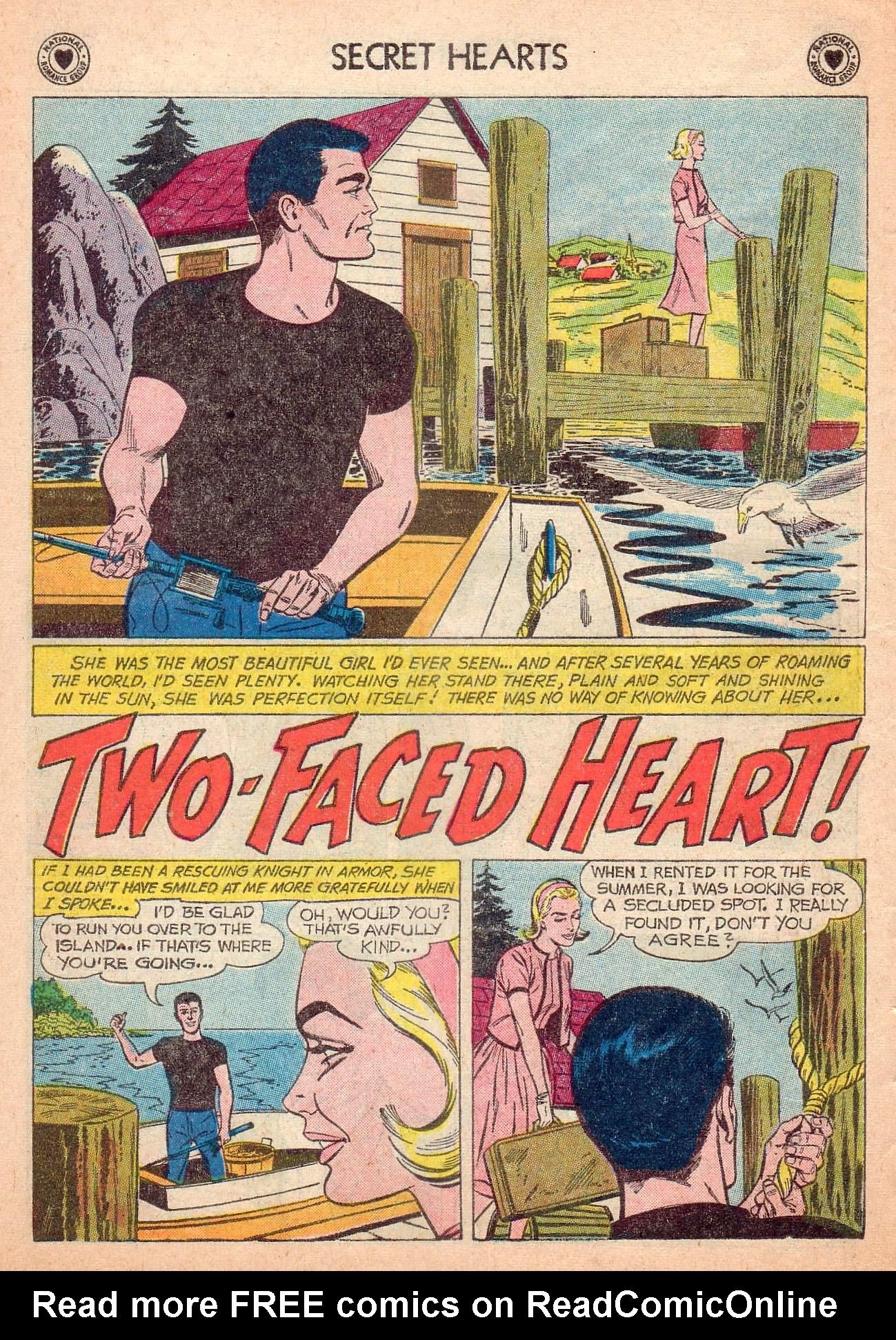 Read online Secret Hearts comic -  Issue #63 - 10