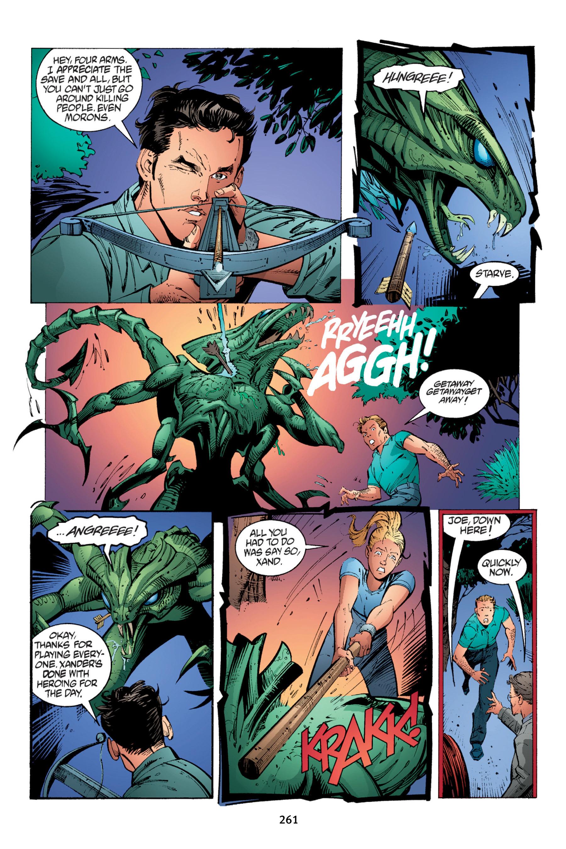 Read online Buffy the Vampire Slayer: Omnibus comic -  Issue # TPB 4 - 259