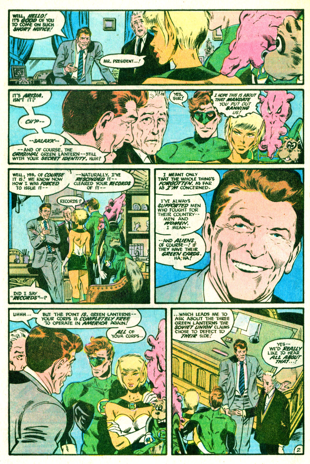 The Green Lantern Corps 209 Page 3