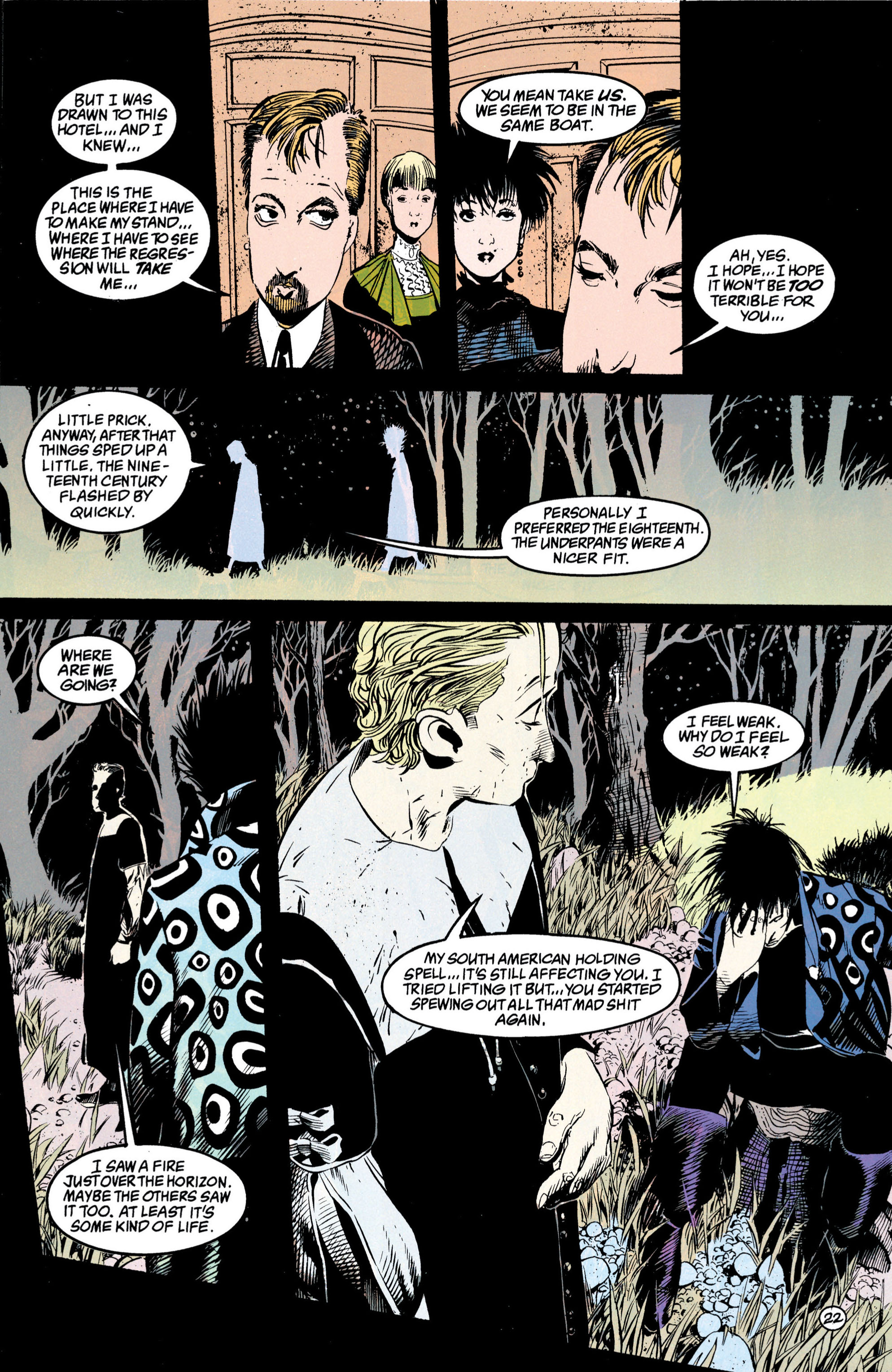 Read online Shade, the Changing Man comic -  Issue #42 - 23