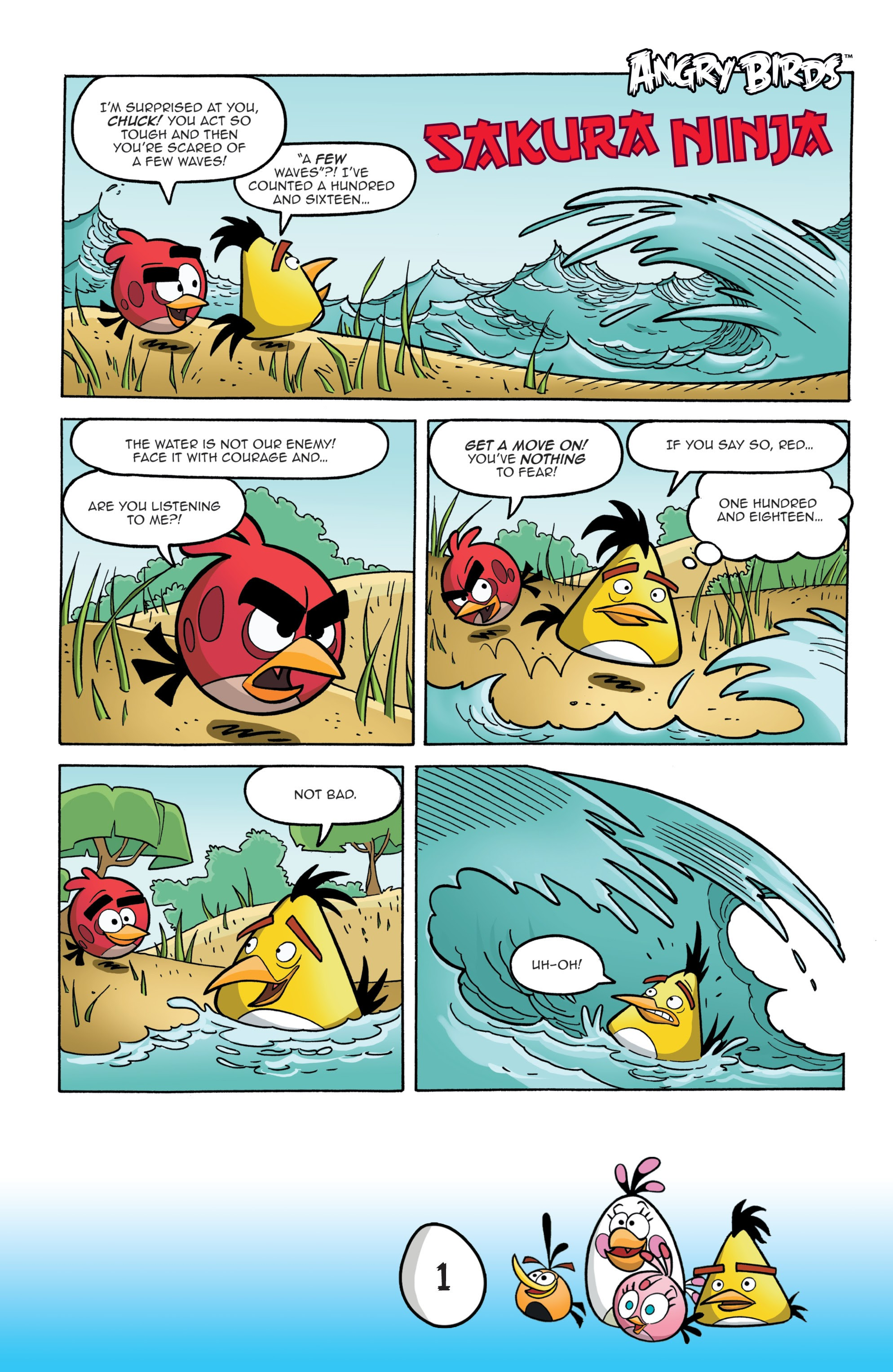 Read online Angry Birds Comics: Game Play comic -  Issue #1 - 3