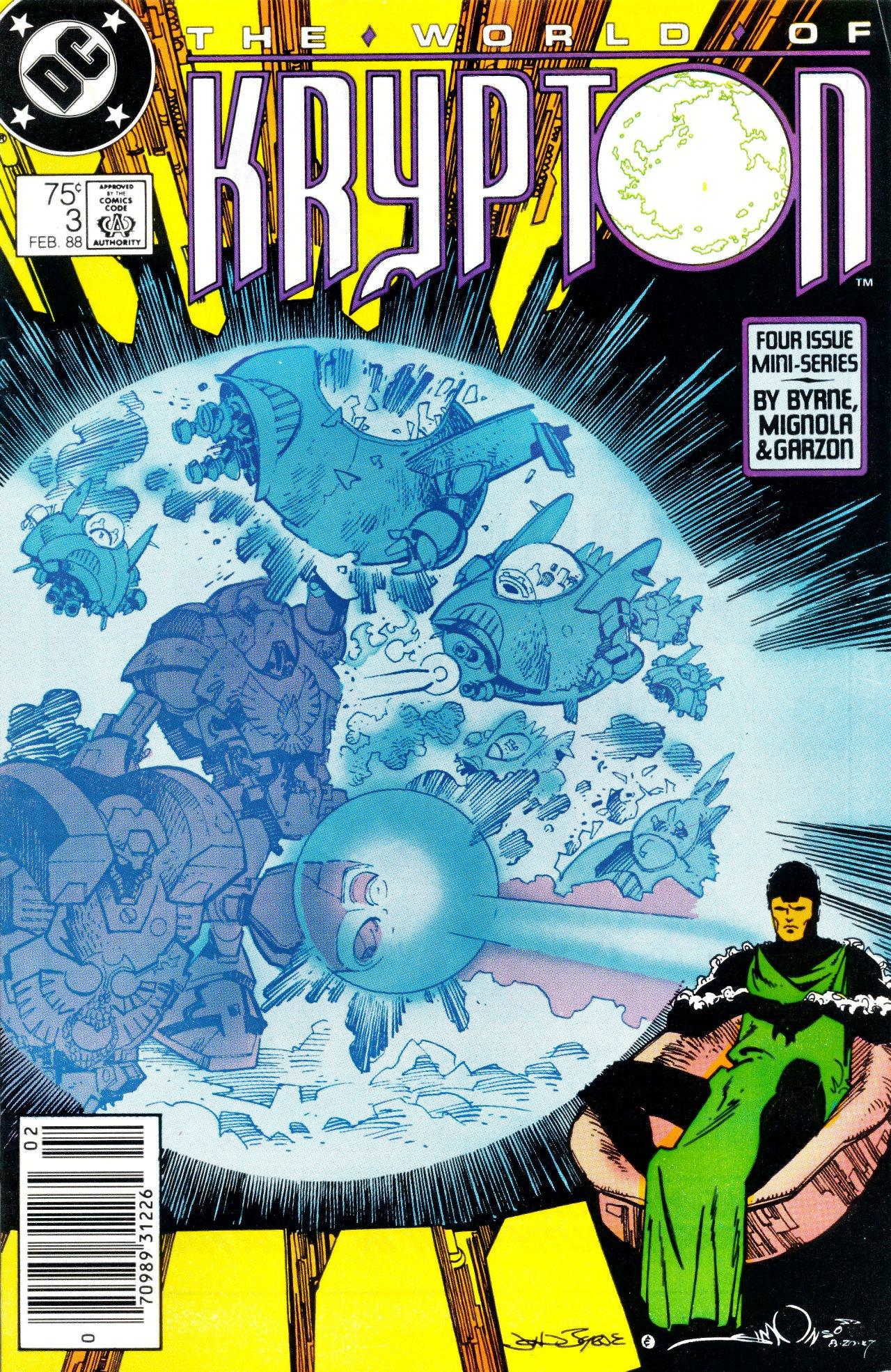 Read online World of Krypton comic -  Issue #3 - 2