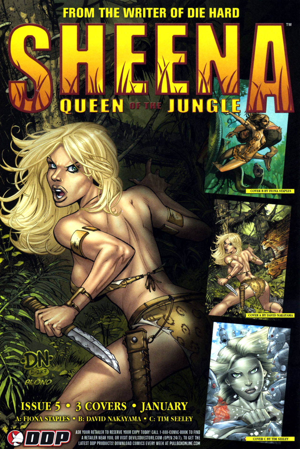 Read online Sheena, Queen of the Jungle comic -  Issue #4 - 25