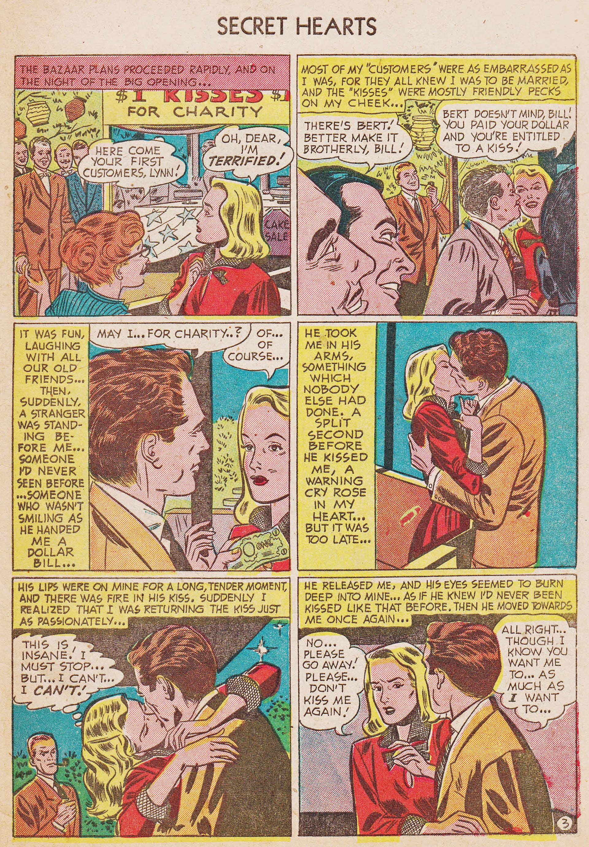 Read online Secret Hearts comic -  Issue #7 - 29