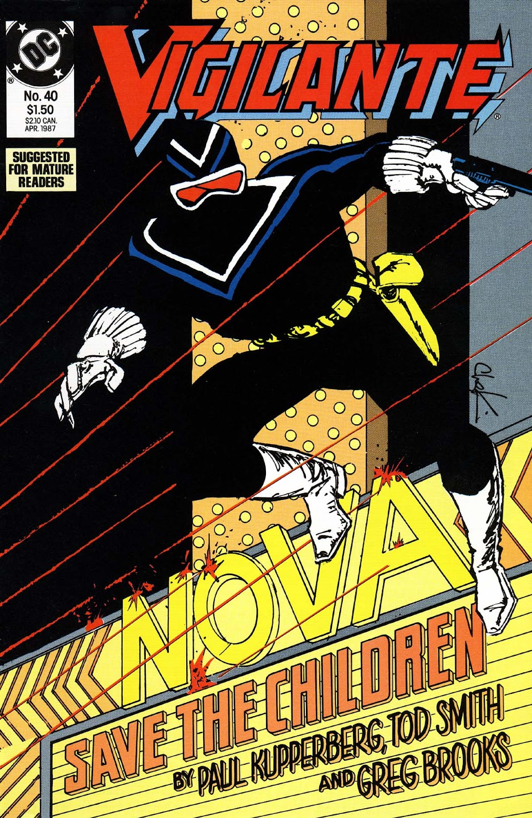 Vigilante (1983) issue 40 - Page 1
