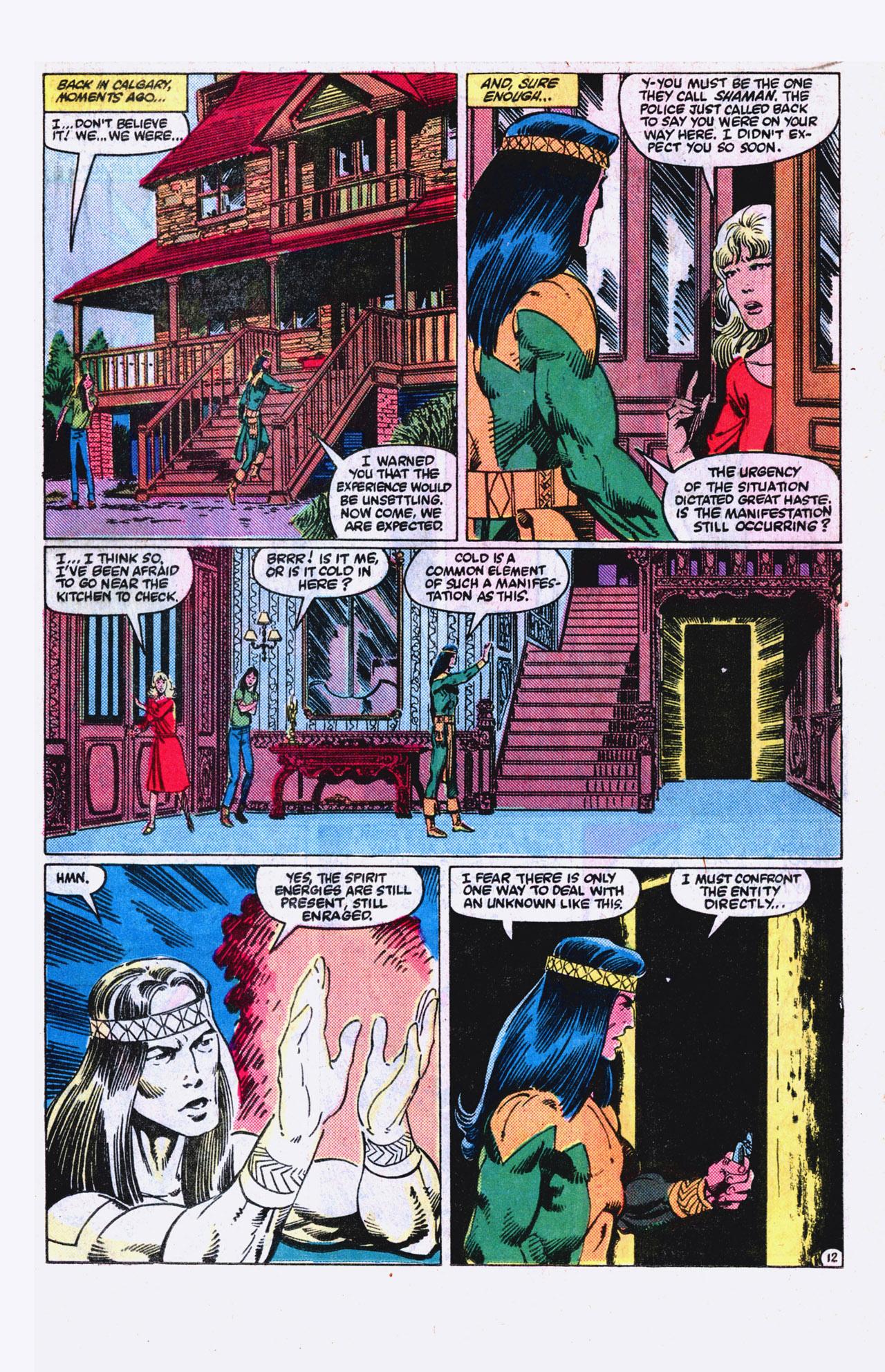 Read online Alpha Flight (1983) comic -  Issue #18 - 13