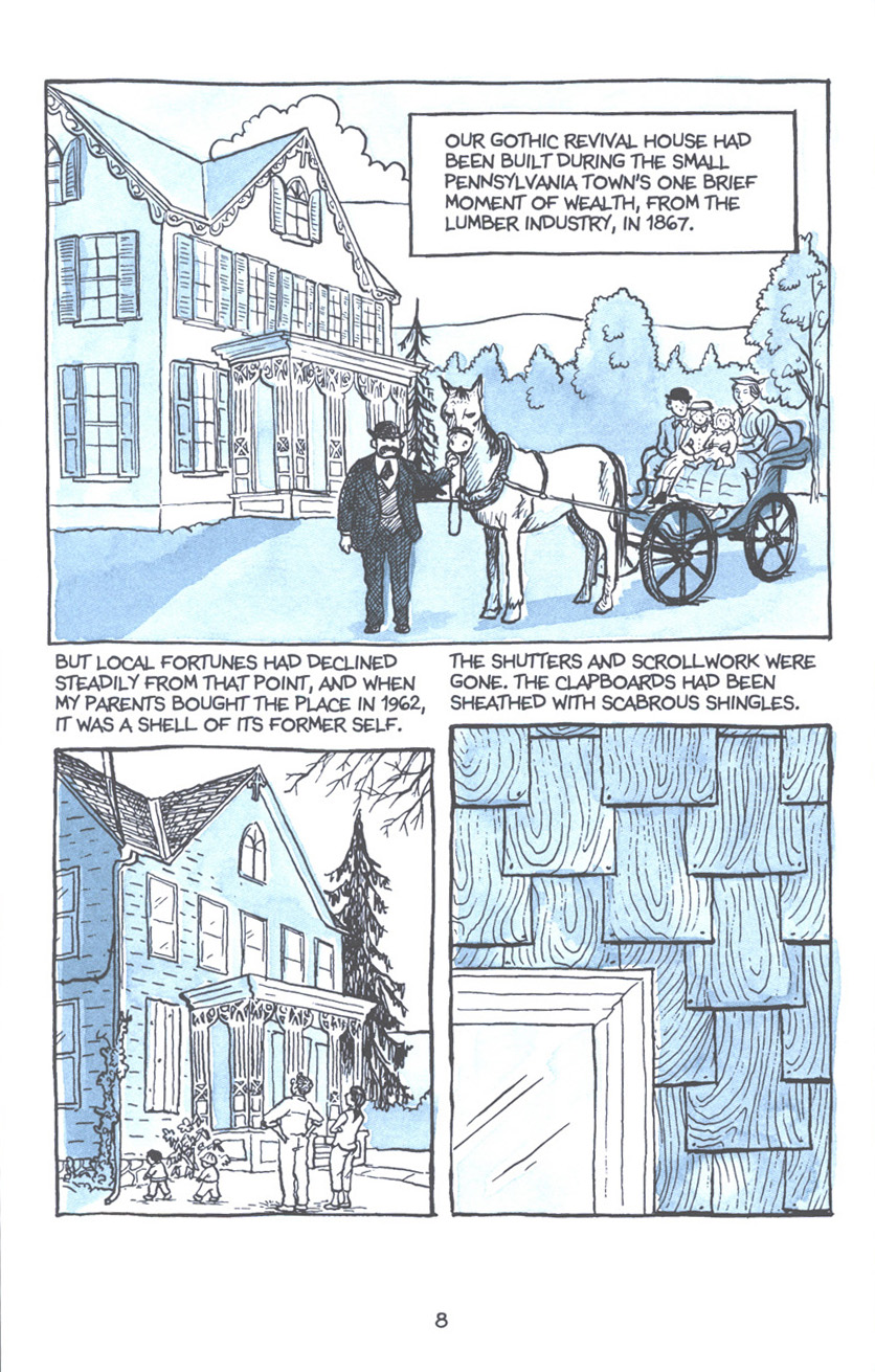 Read online Fun Home: A Family Tragicomic comic -  Issue # TPB - 15
