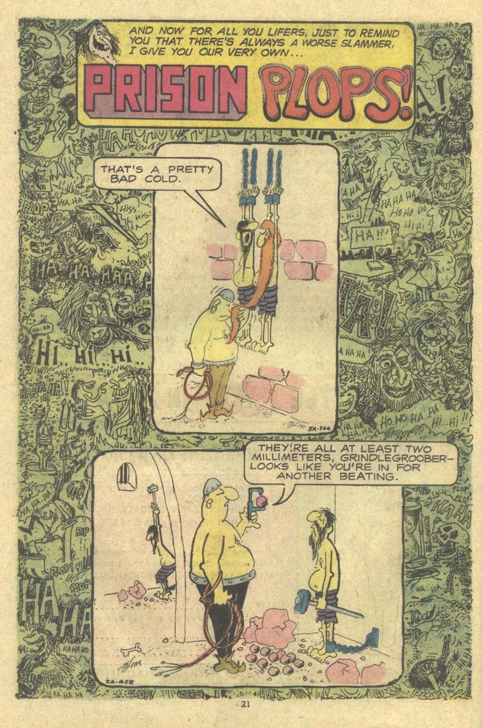 Read online Plop! comic -  Issue #9 - 22