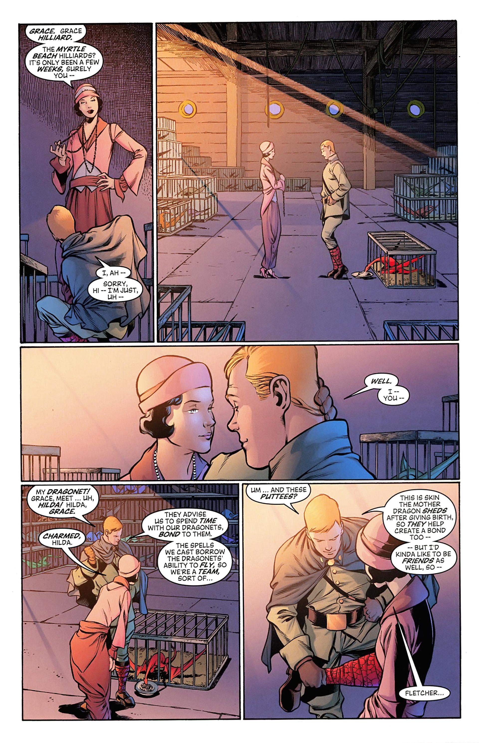 Read online Arrowsmith comic -  Issue #3 - 5