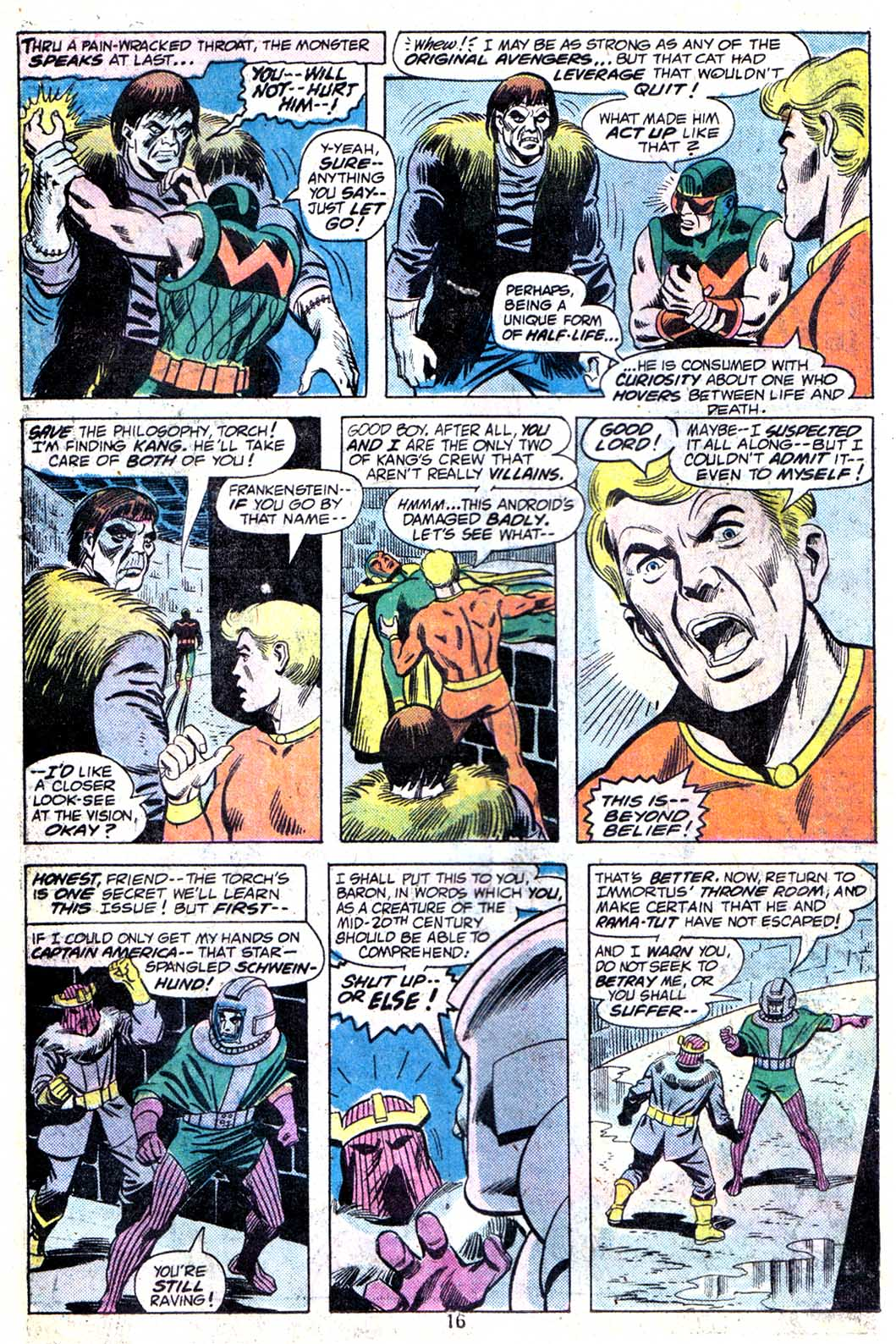 Giant-Size Avengers (1974) issue 3 - Page 18