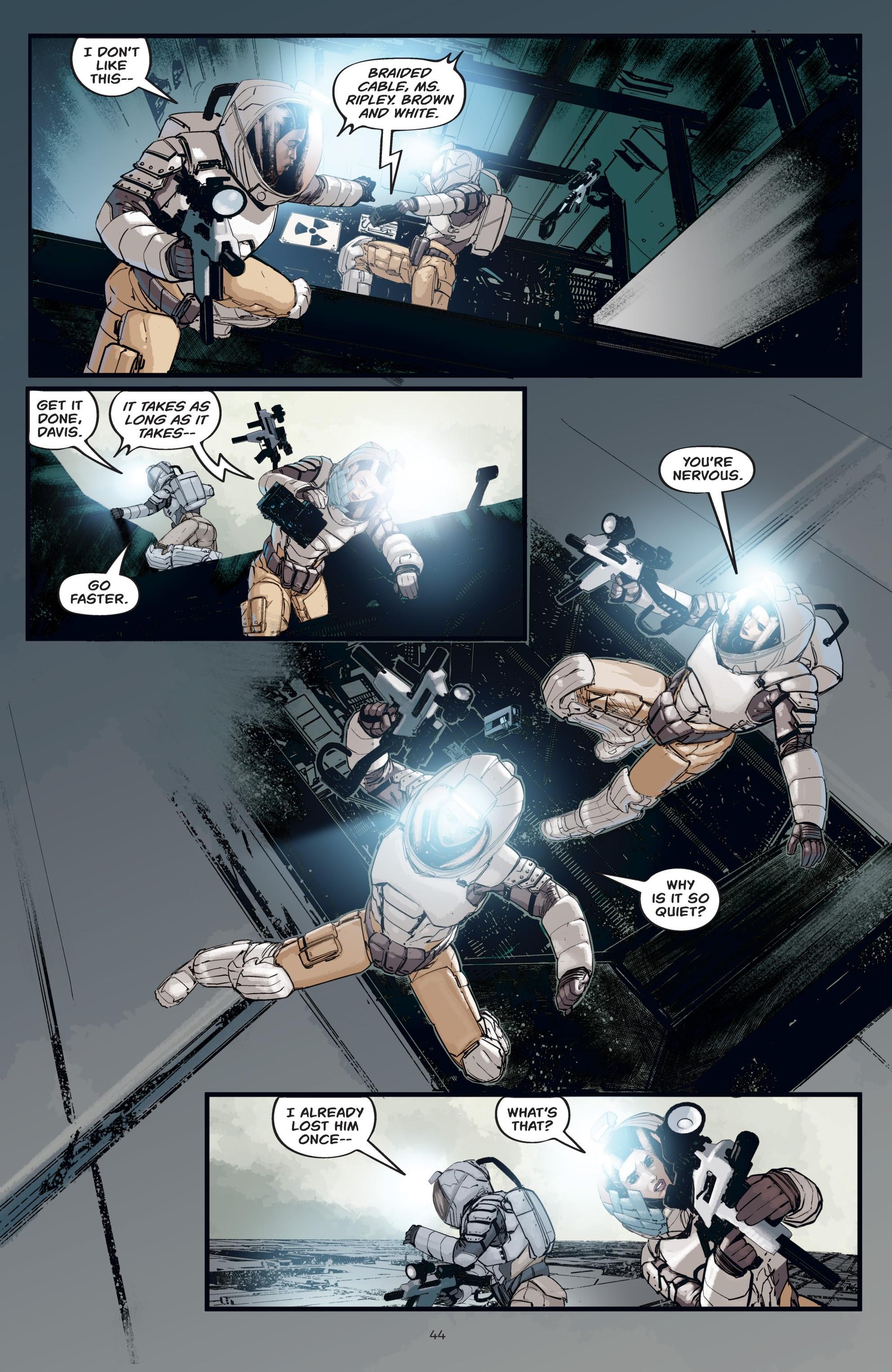 Read online Aliens: Resistance comic -  Issue # _TPB - 44