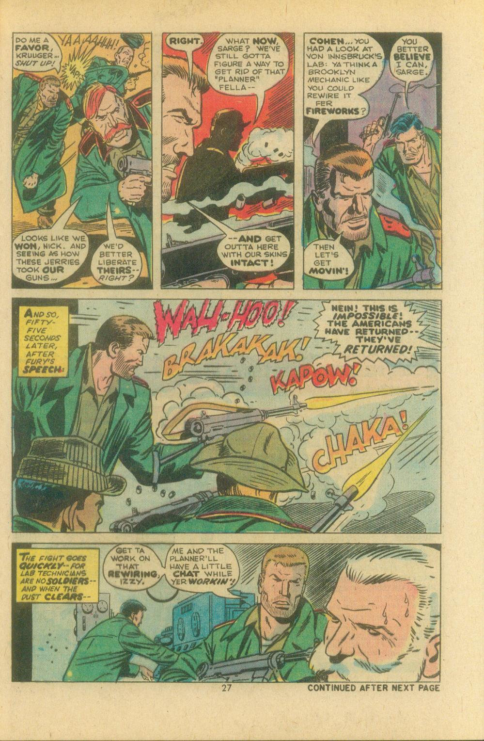 Read online Sgt. Fury comic -  Issue #119 - 29